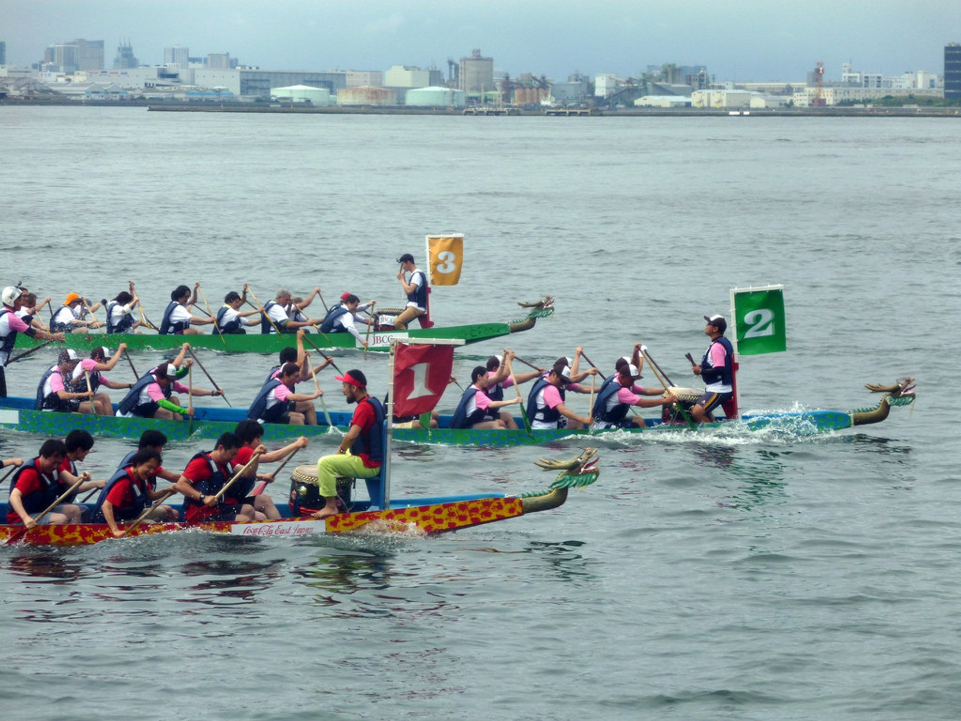 Dragon Boat Racing in Japan 2019 - Best Time