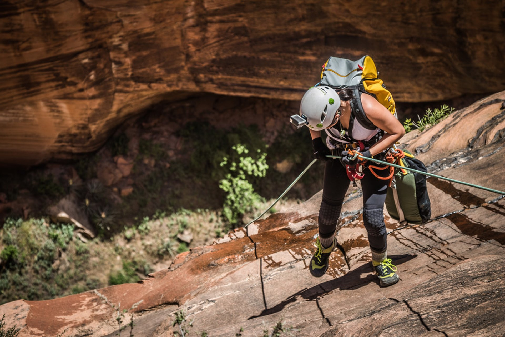 Best time to see Canyoneering in Zion National Park in Utah 2019