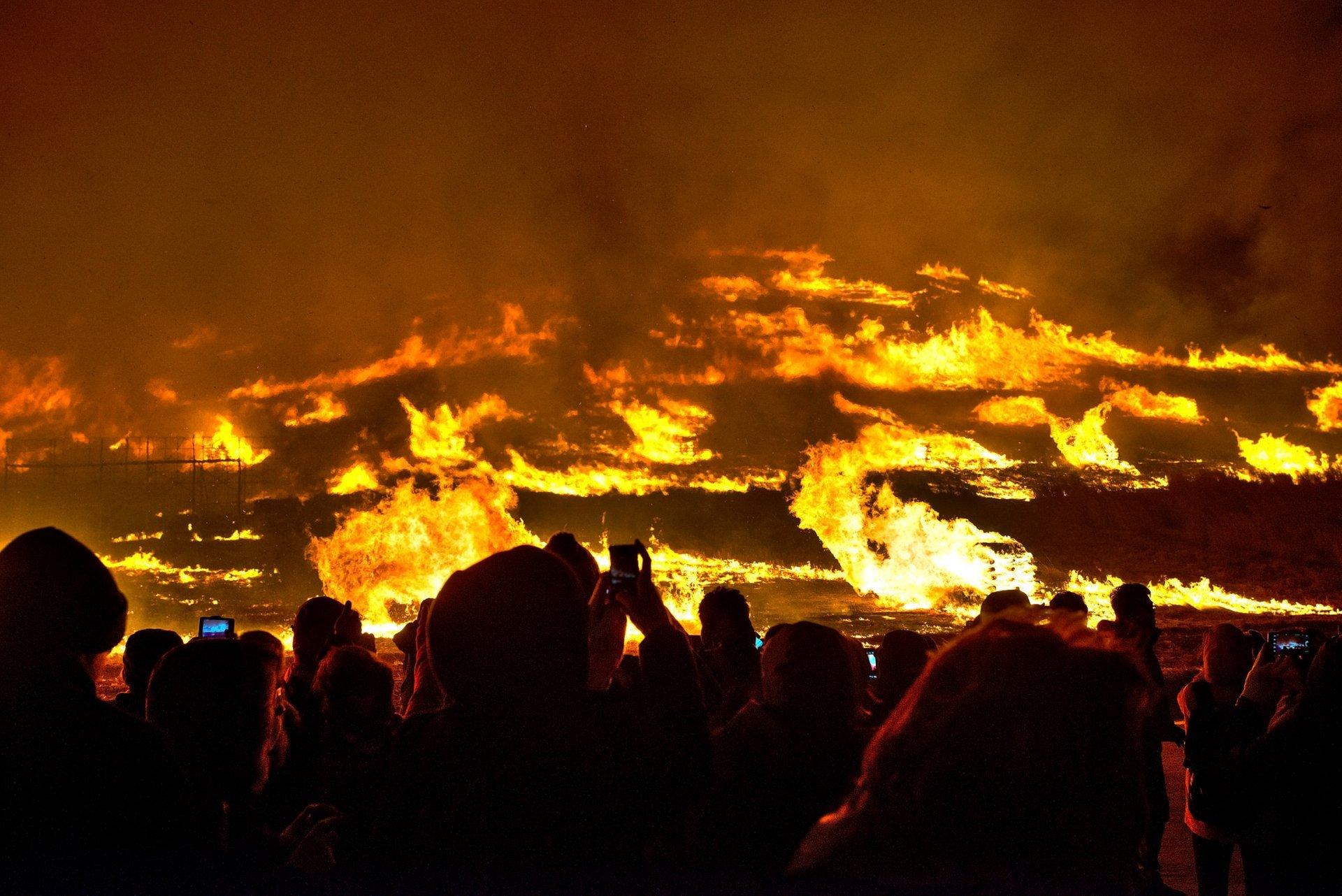 Jeju Fire Festival in South Korea 2019 - Best Time