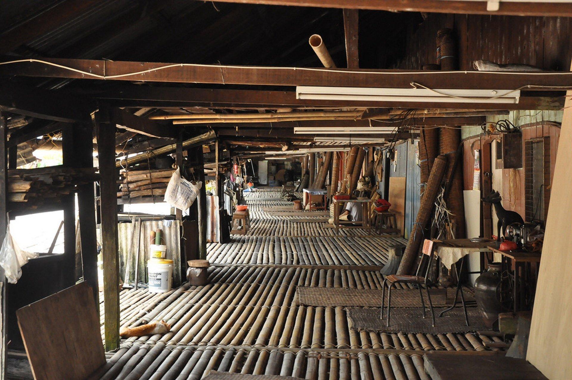 Borneo Sarawak longhouse 2020