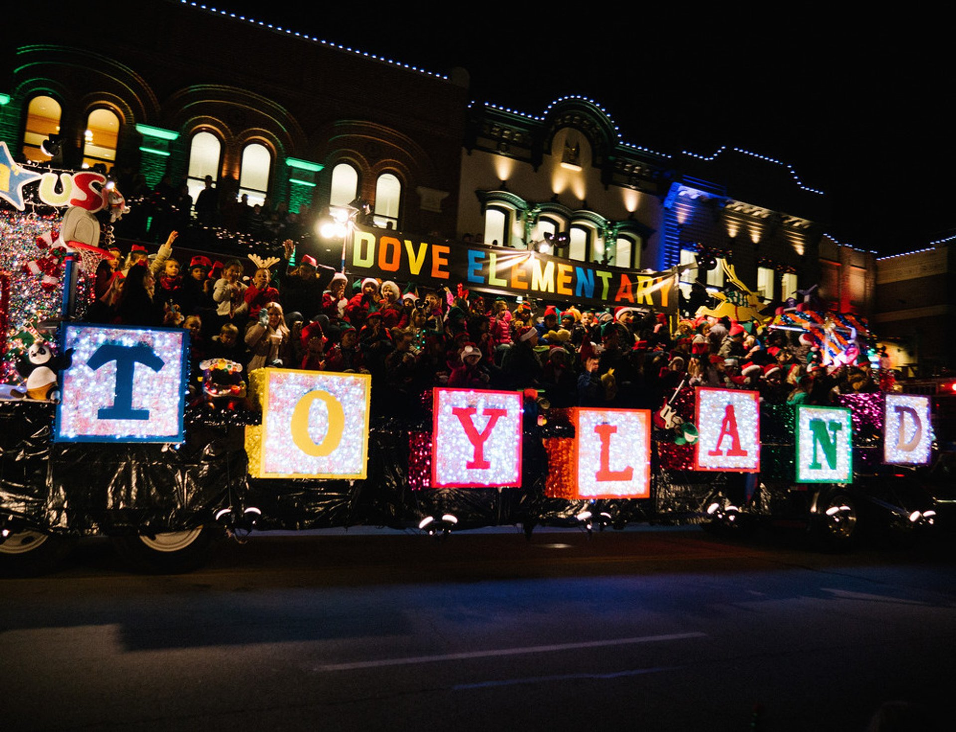 Best time to see Grapevine Parade of Lights 2020