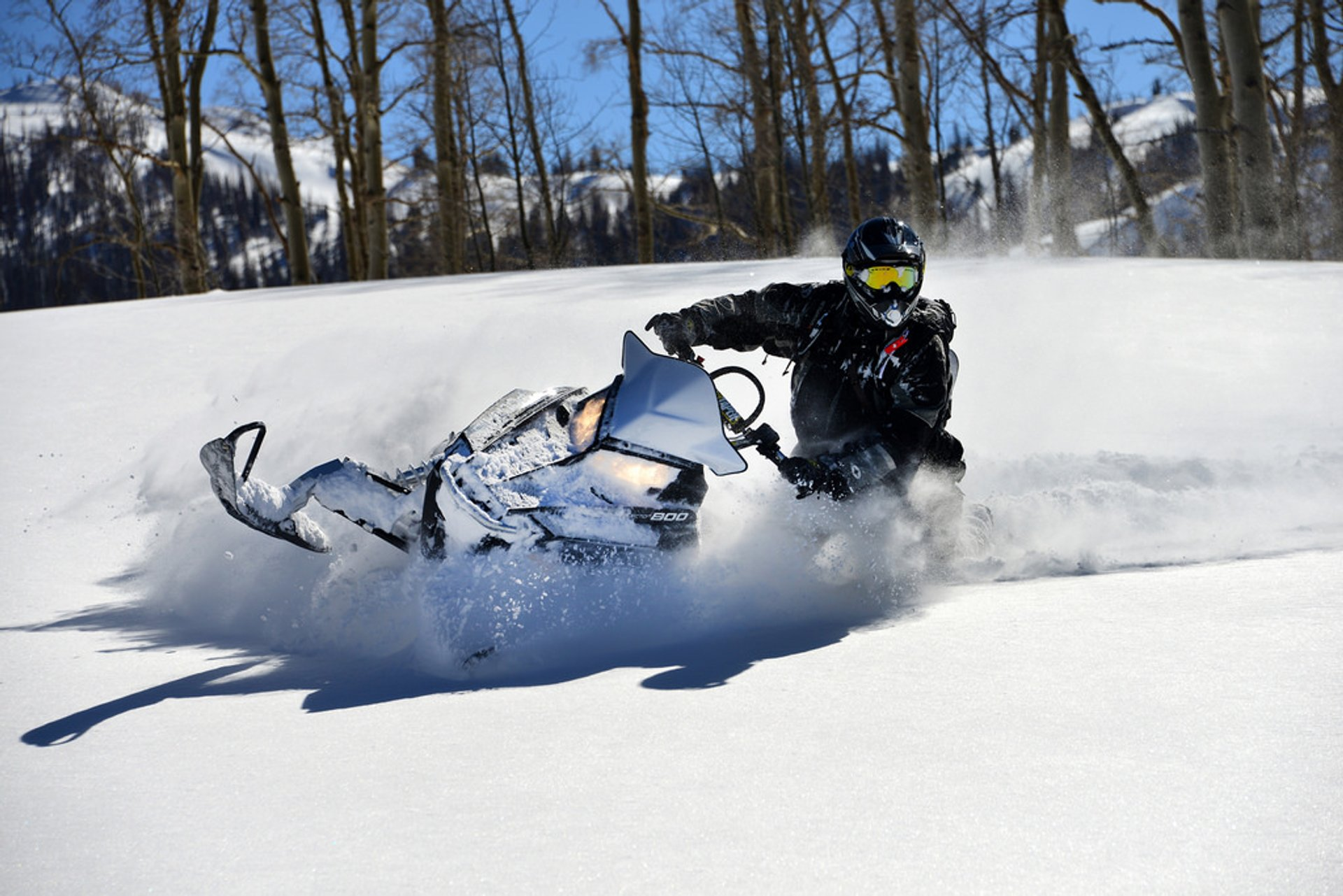 Best time for Snowmobiling in Utah 2019