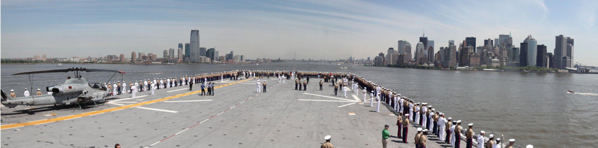 Marines have landed, Fleet Week New York begins 2020