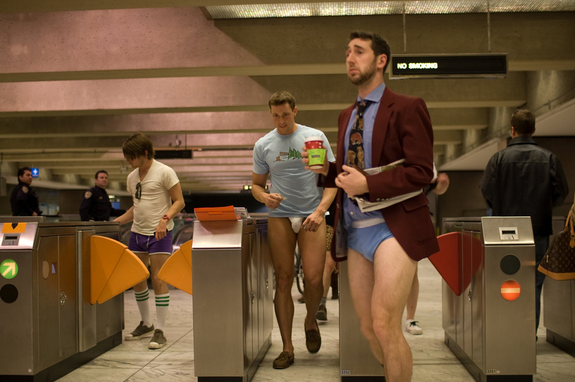 No Pants BART Ride Day in San Francisco 2020 - Best Time