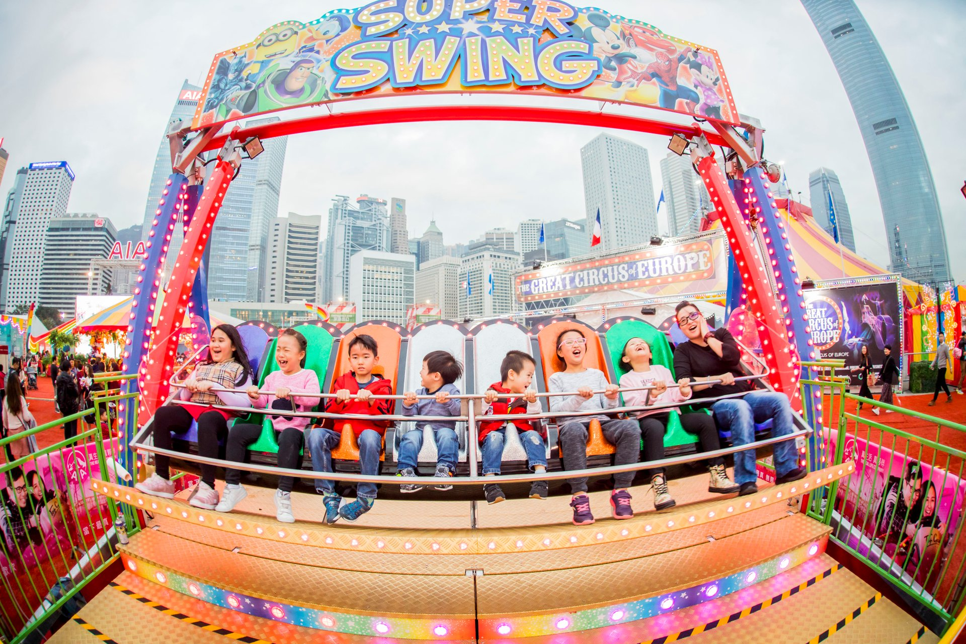 Best time to see AIA Carnival in Hong Kong 2020