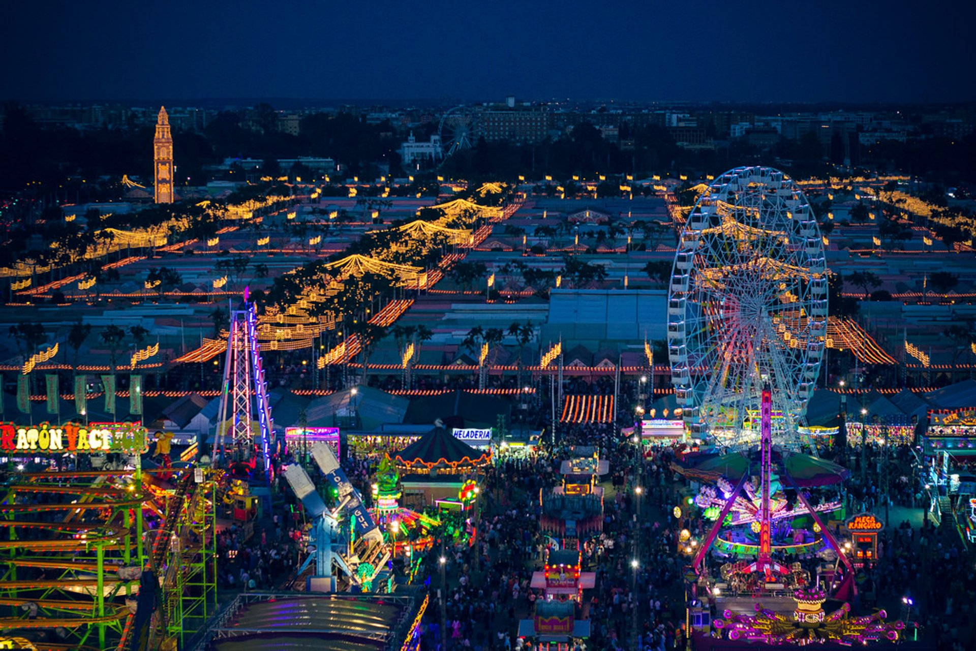 Best time for Seville April Fair (Feria de Abril)