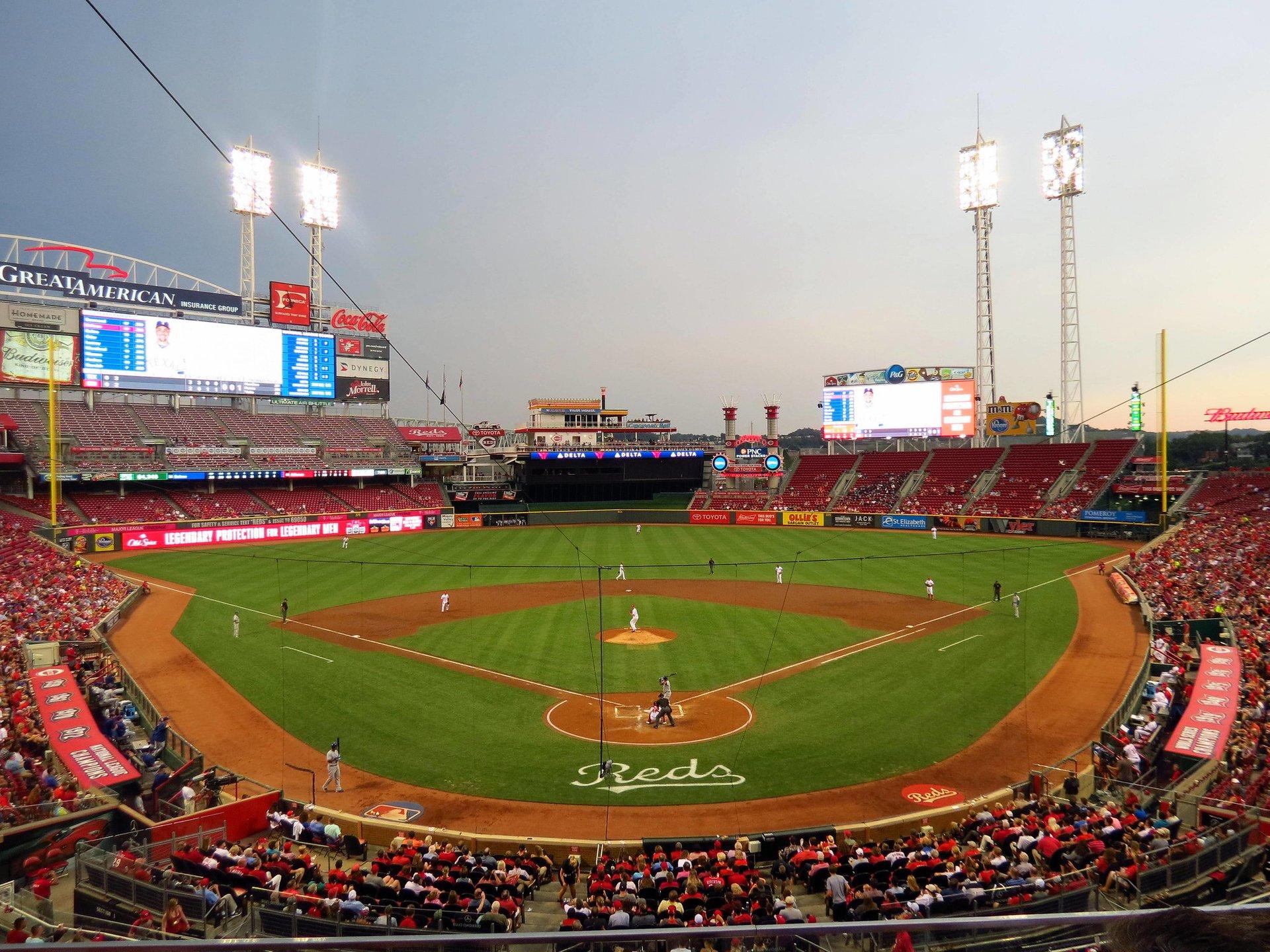 Texas Rangers @ Cincinnati Reds, Great American Ball Park  2020