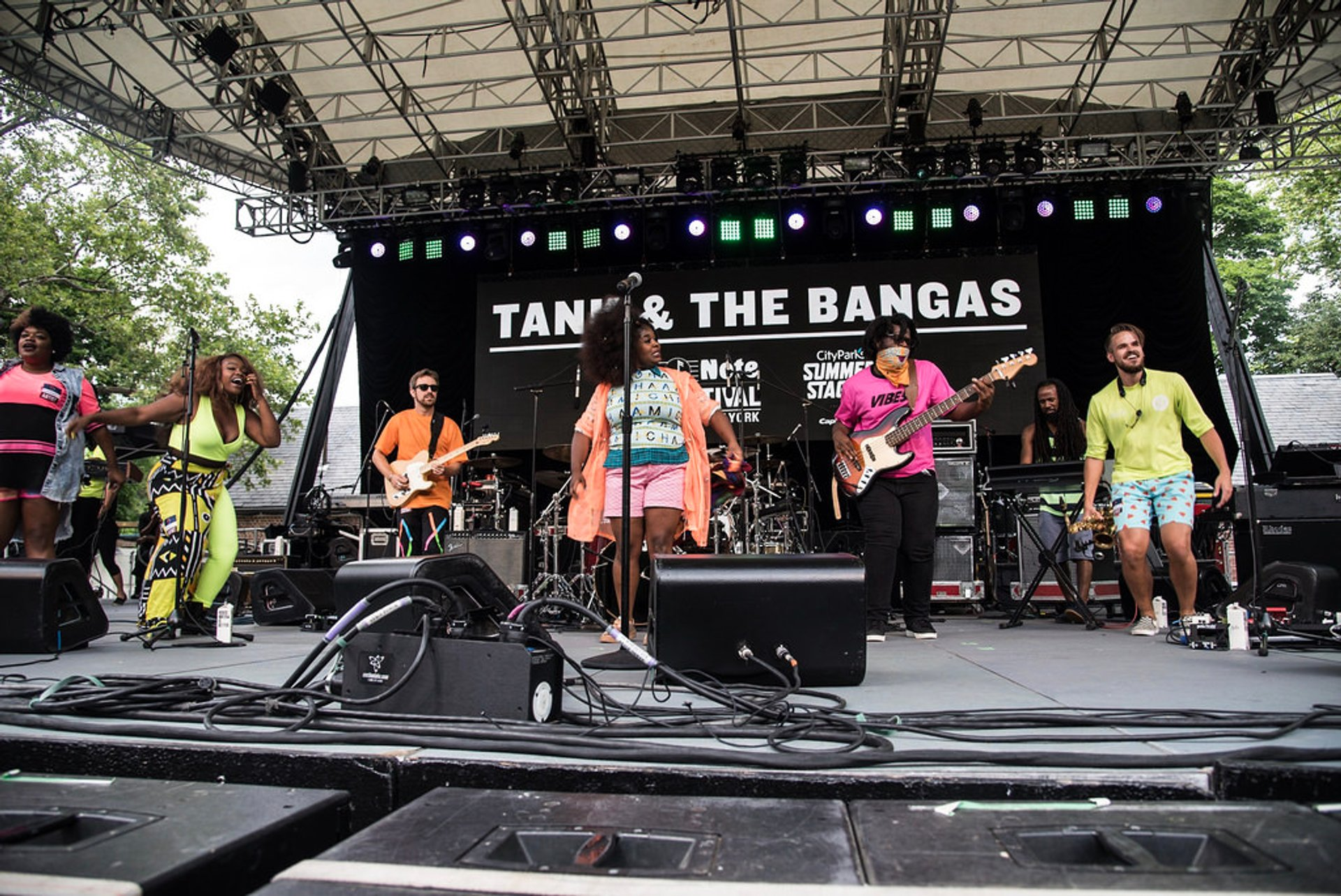 Tank & the Bangas, Central Park SummerStage 2020