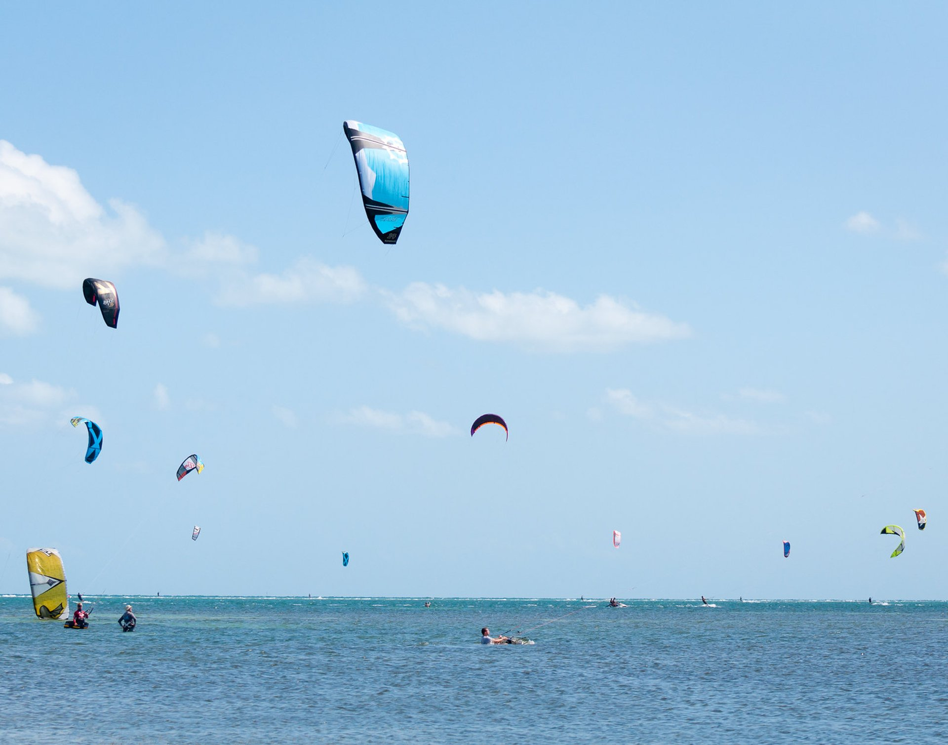 Kiteboarding and Windsurfing in Miami 2020 - Best Time