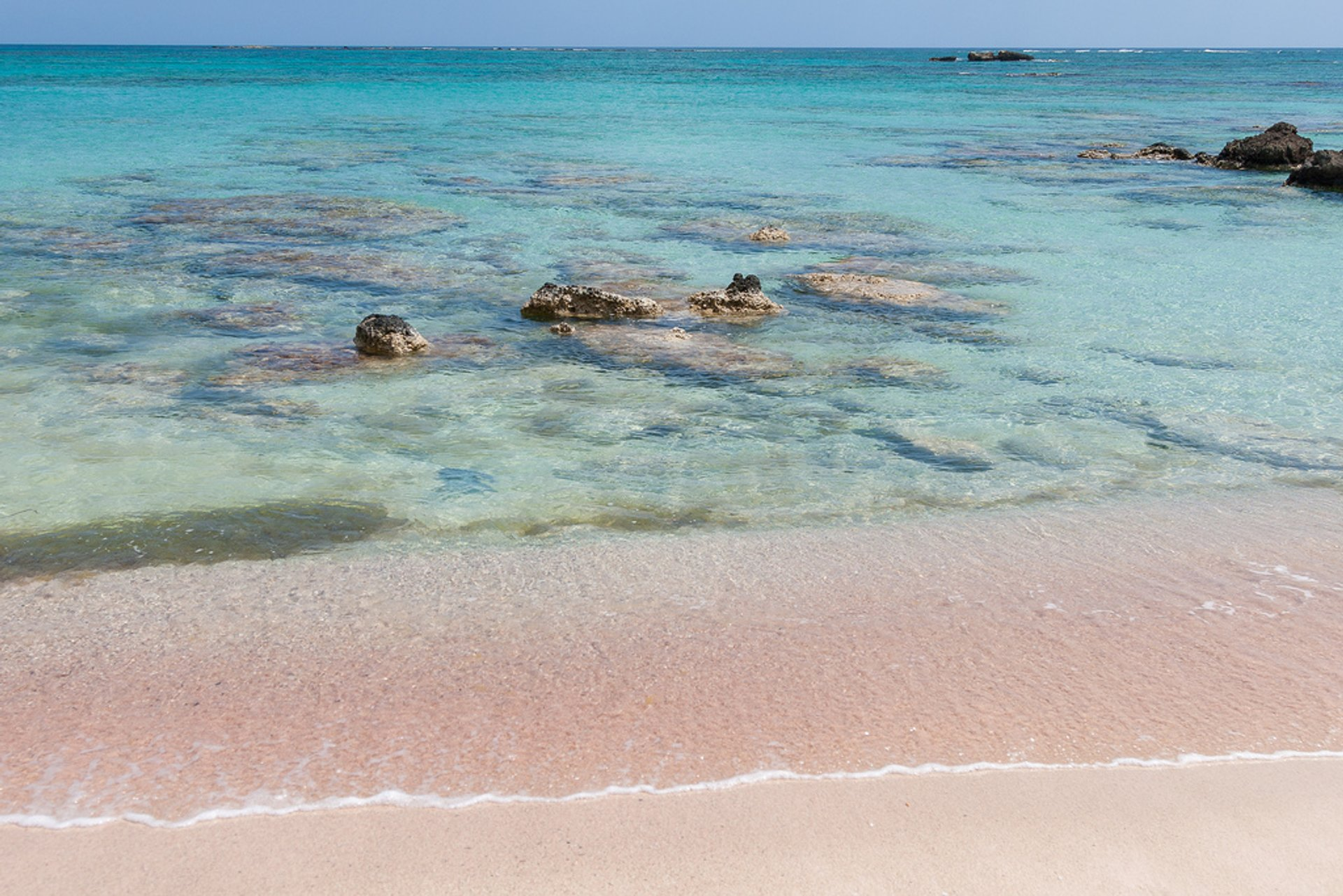 Pink Sand Beaches in Crete 2019 - Best Time