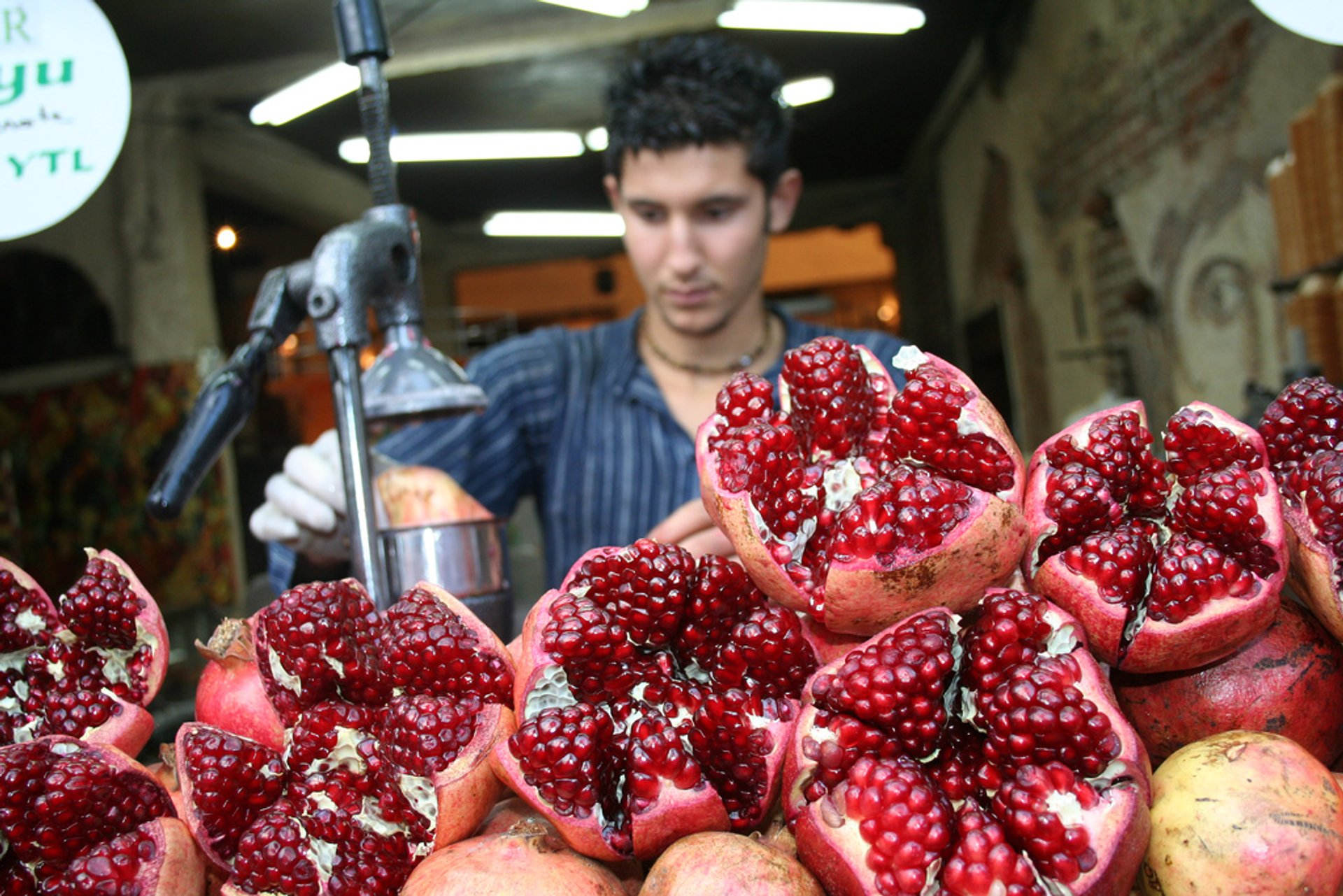 Pomegranate Fresh Juice in Istanbul 2020 - Best Time