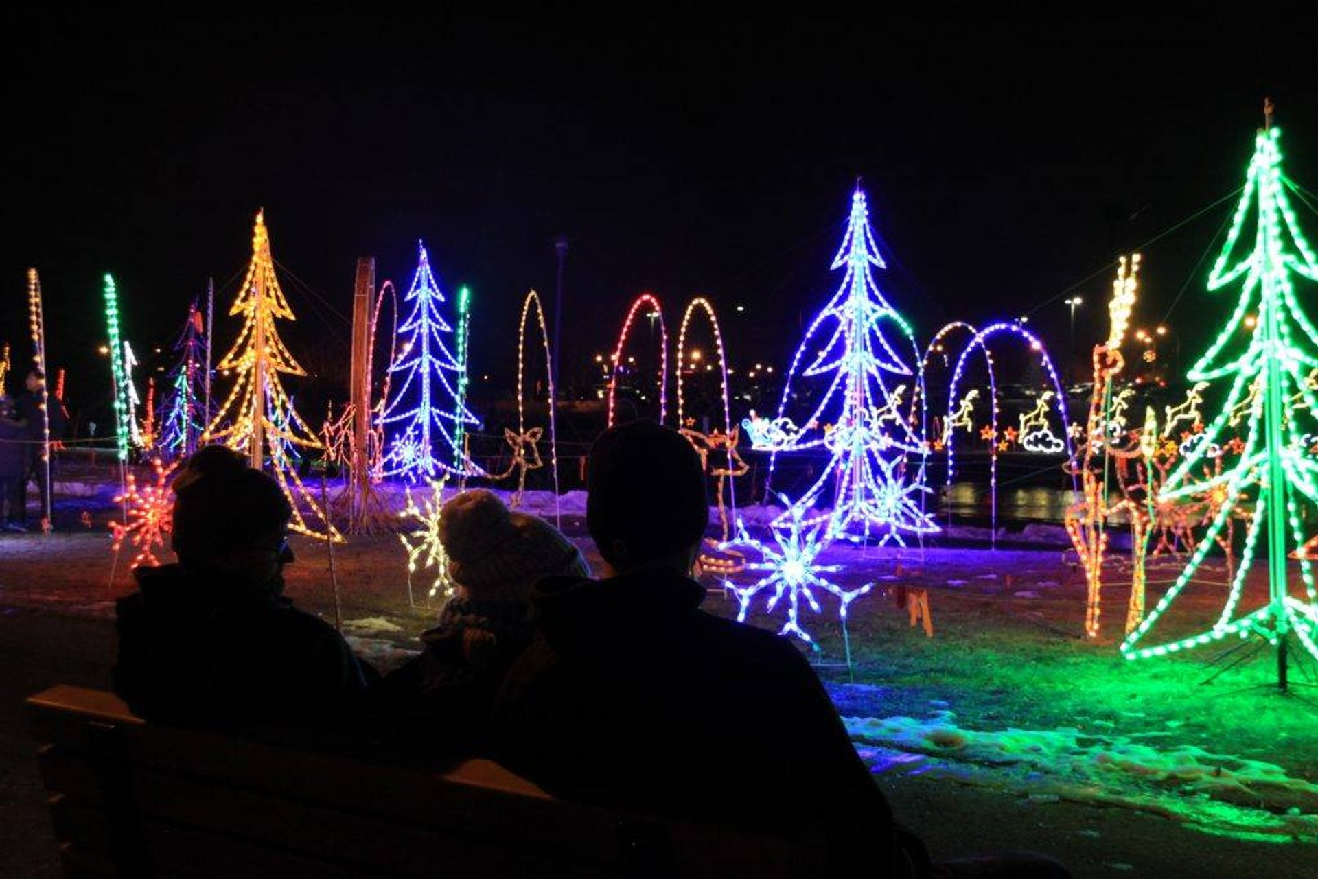 Airdrie Festival of Lights walk-through 2020