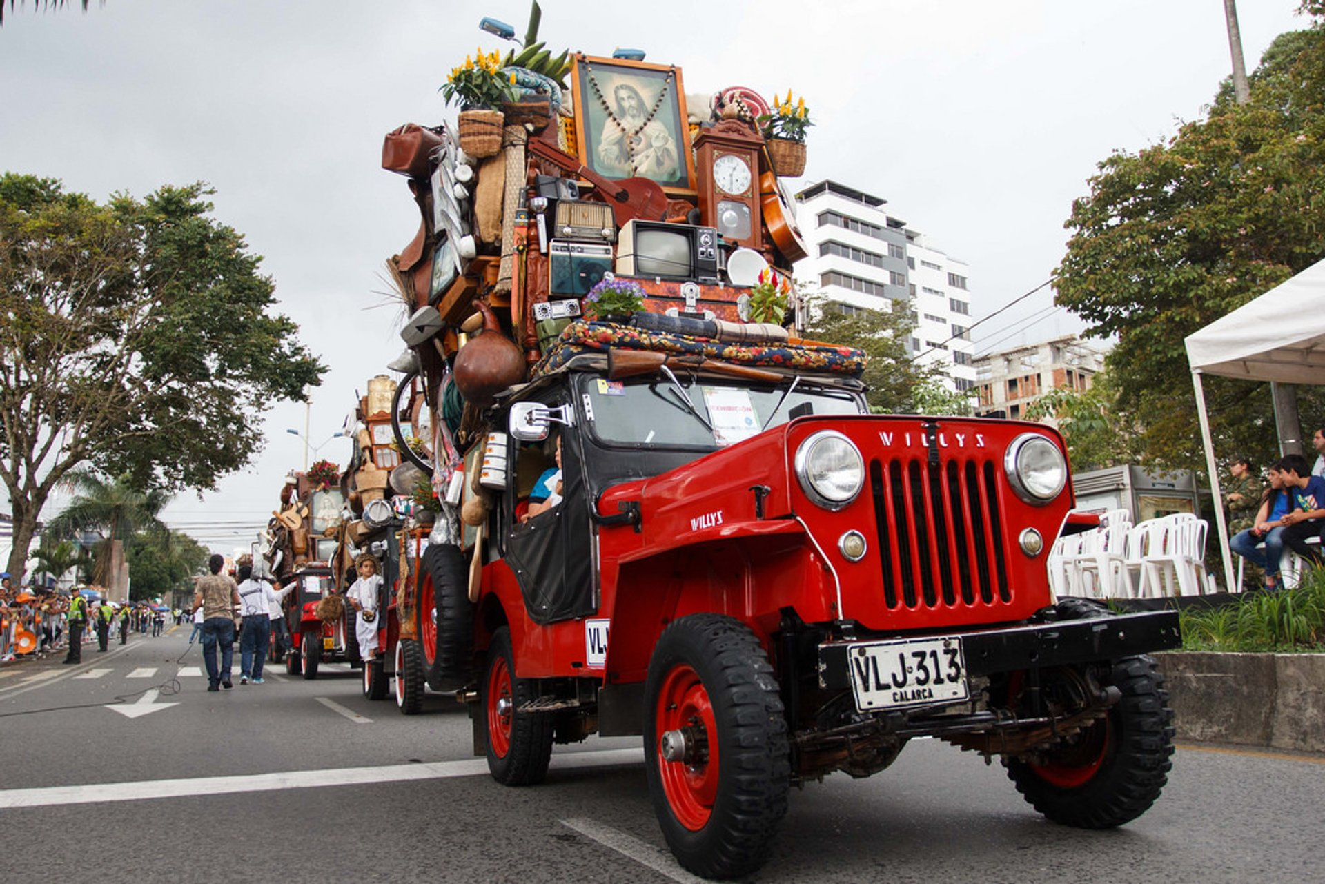 Yipao Parade in Colombia 2020 - Best Time