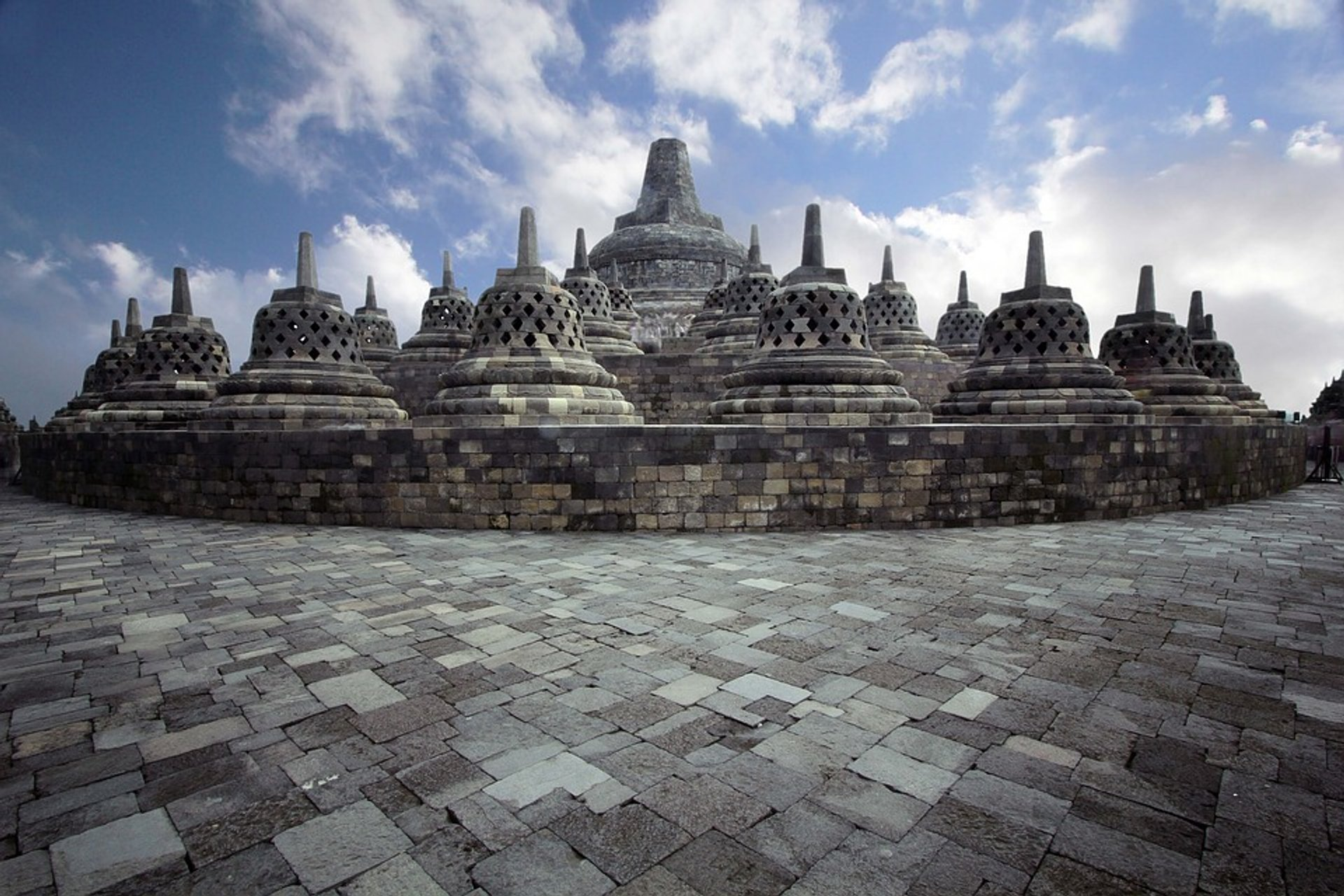 Borobudur in Java 2019 - Best Time