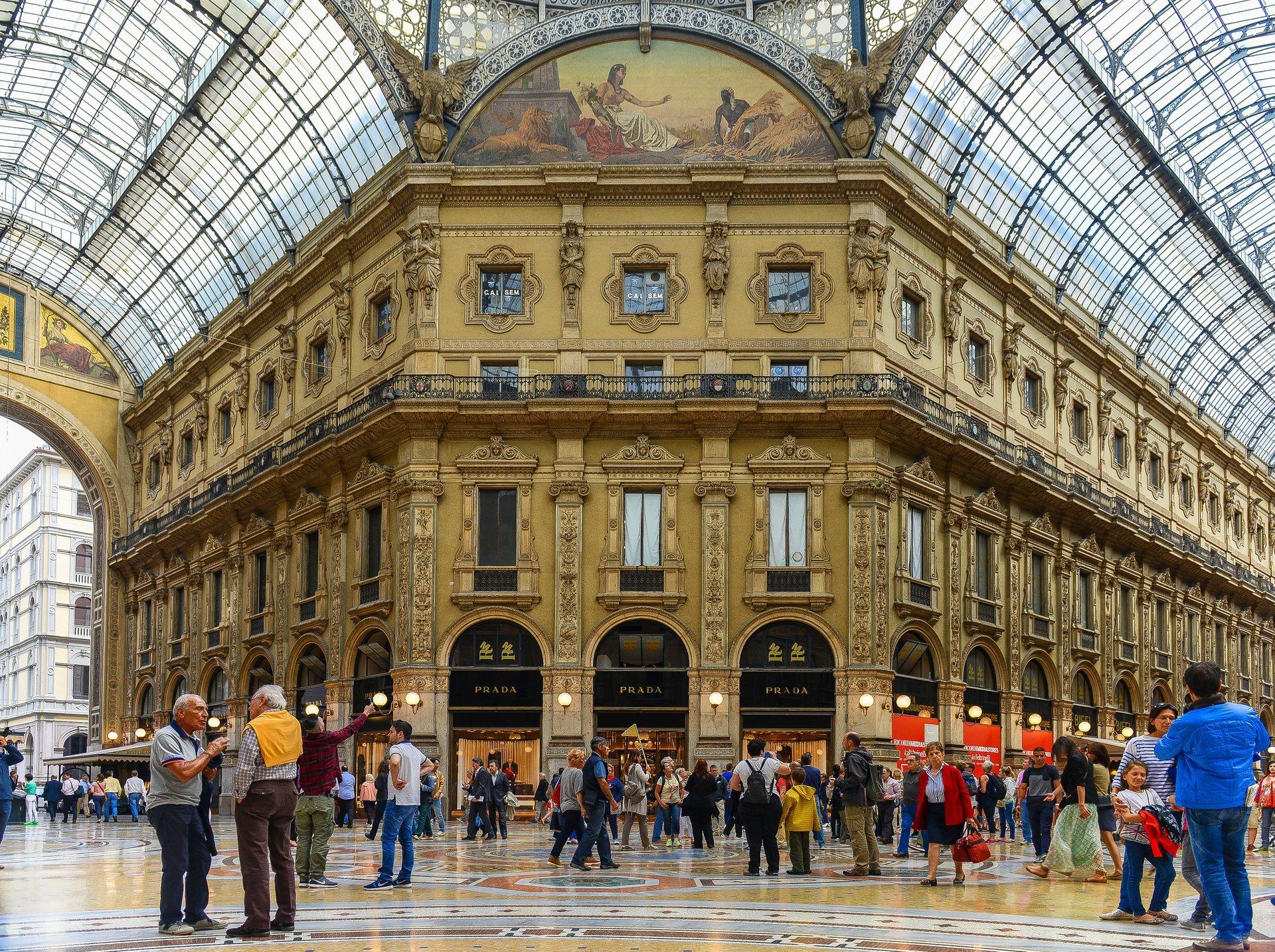 Galleria Vittorio Emanuele II 2019