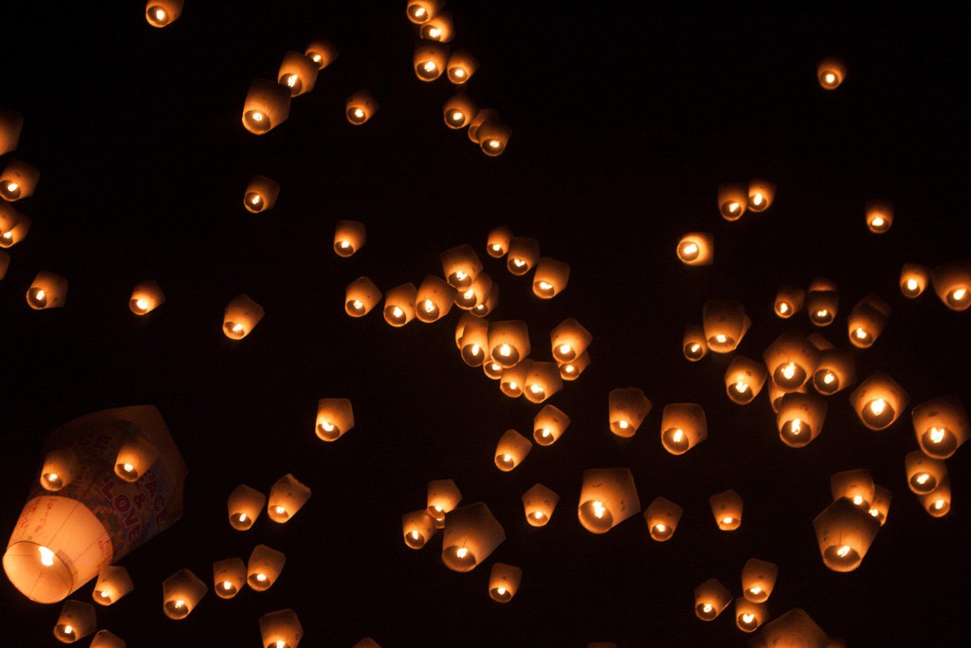 Pingxi Sky Lantern Festival 2020
