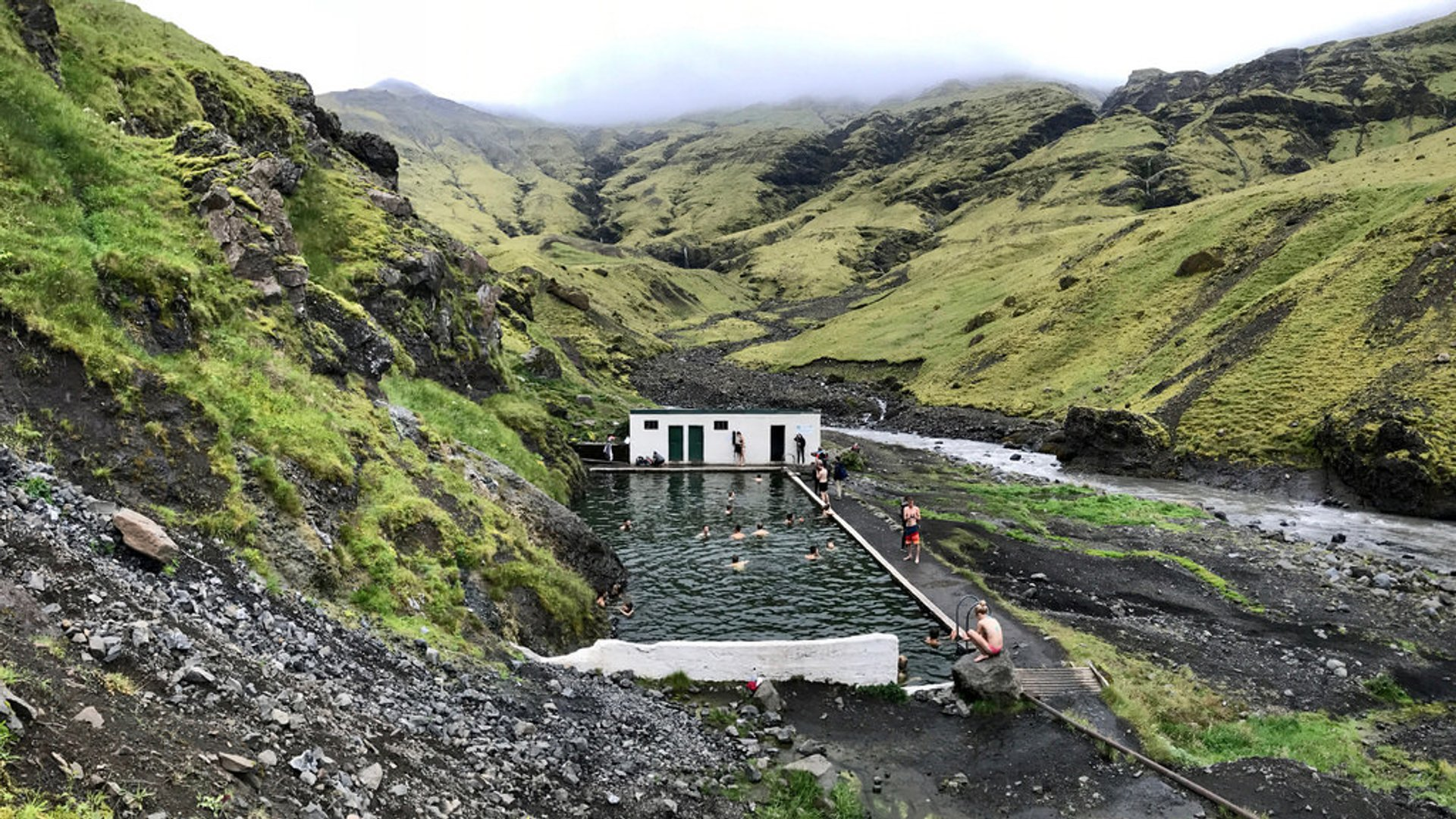 Seljavallalaug Swimming Pool in Iceland 2019 - Best Time