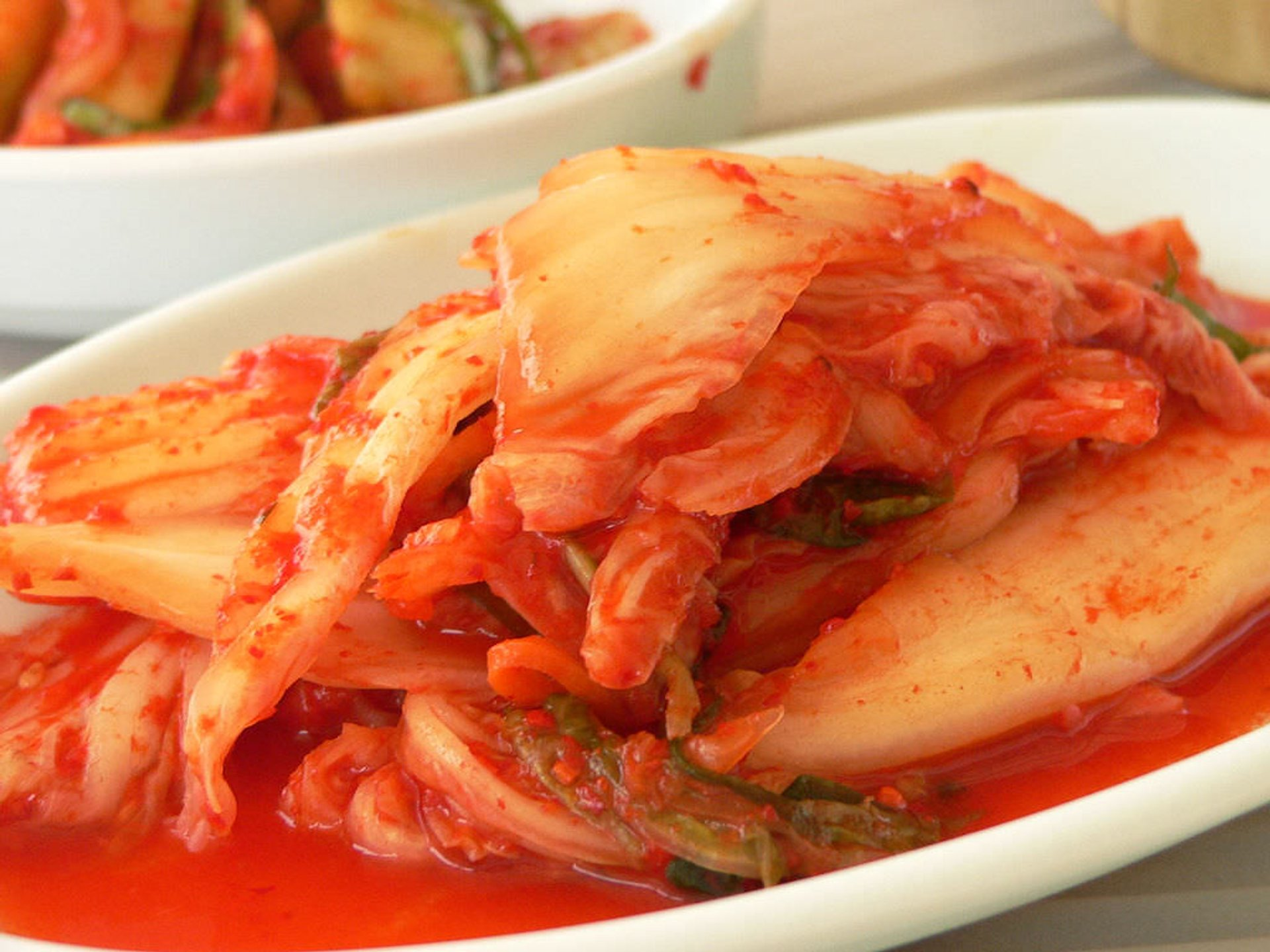 Plate of kimchi 2019