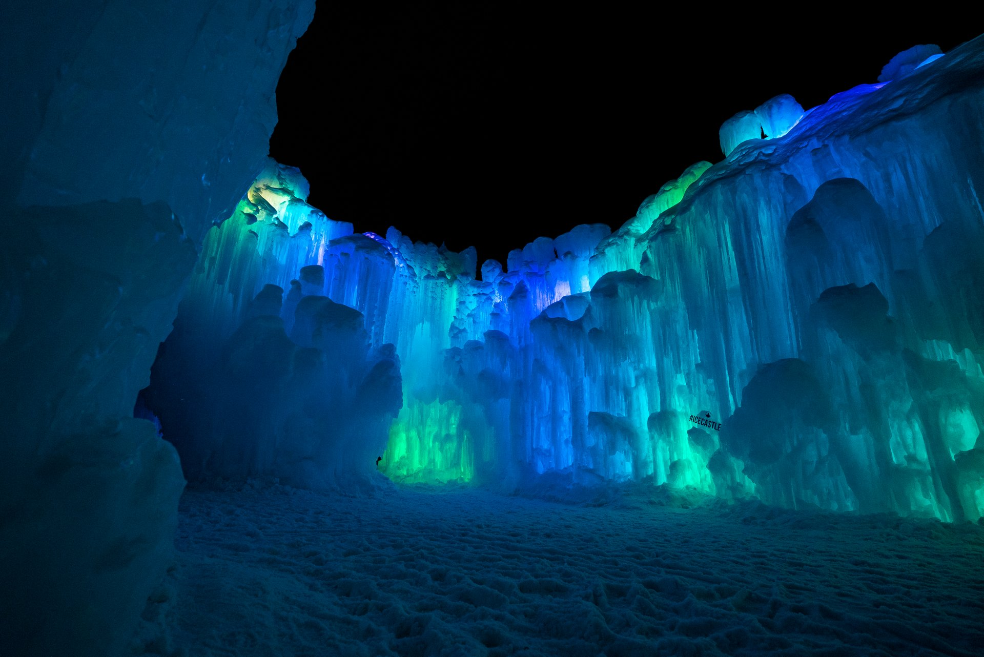 Best time for Ice Castles in Utah 2020