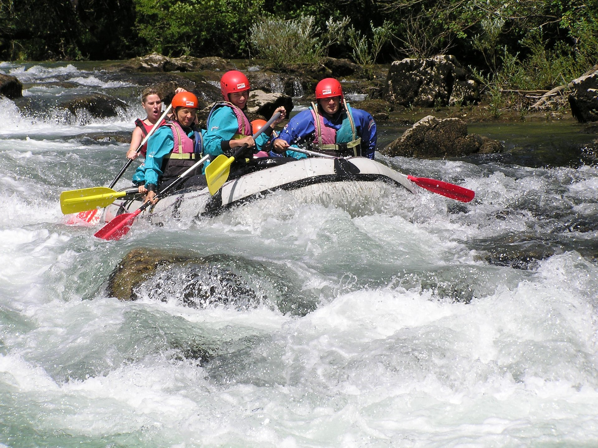 White Water Rafting in Croatia 2019 - Best Time