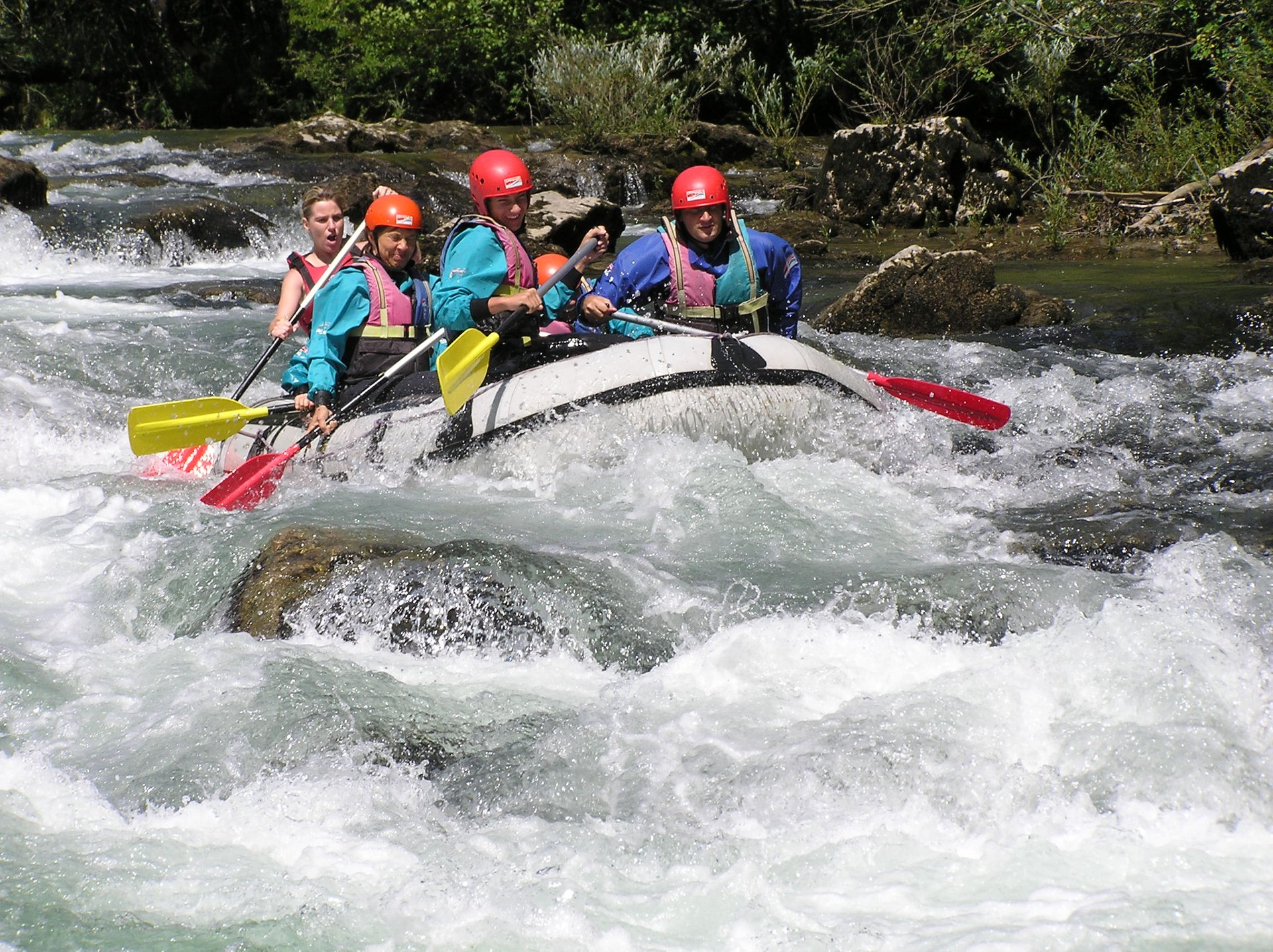 White Water Rafting in Croatia 2020 - Best Time