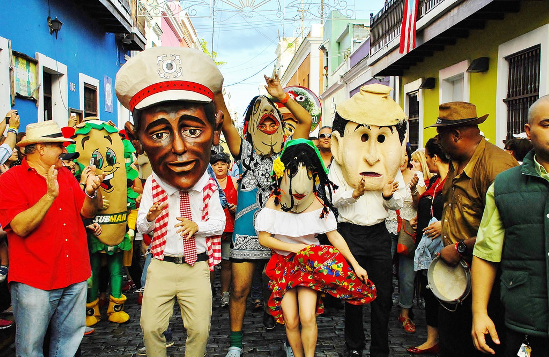 San Sebastian Street Festival 2020 In Puerto Rico Dates Map