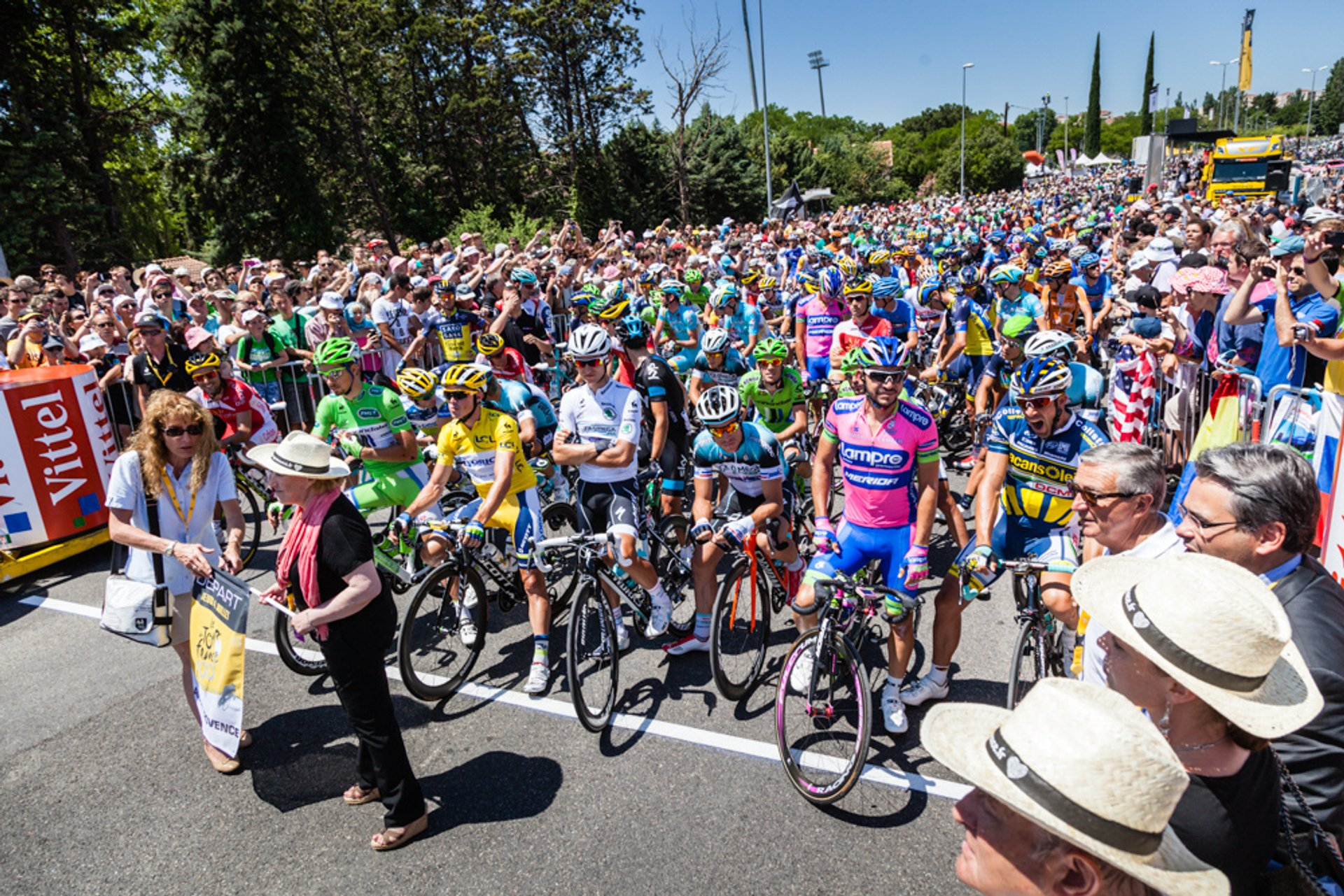 Best time for Tour De France in Provence & French Riviera 2019