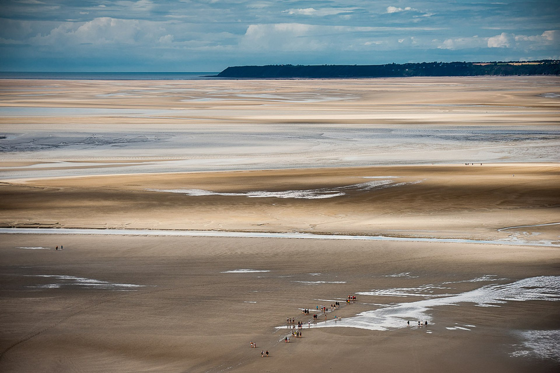 Best time for Mont Saint Michel Tide in Normandy 2020