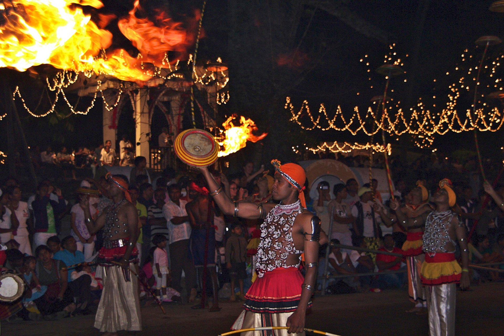 Best time to see Kandy Esala Perahera in Sri Lanka 2019