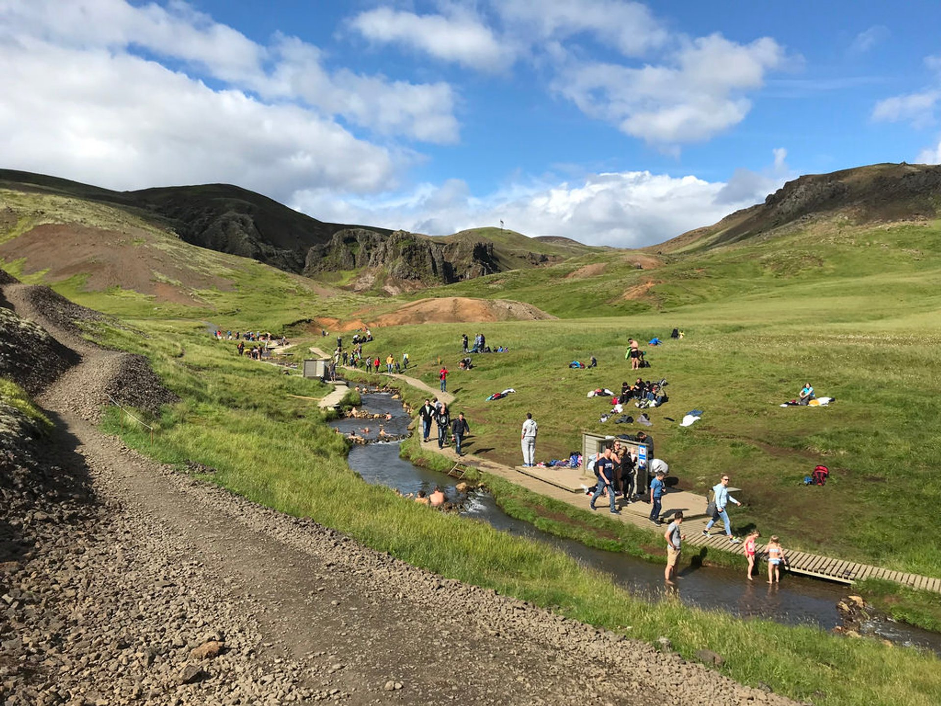 Reykjadalur Hot Springs in Iceland - Best Season 2020