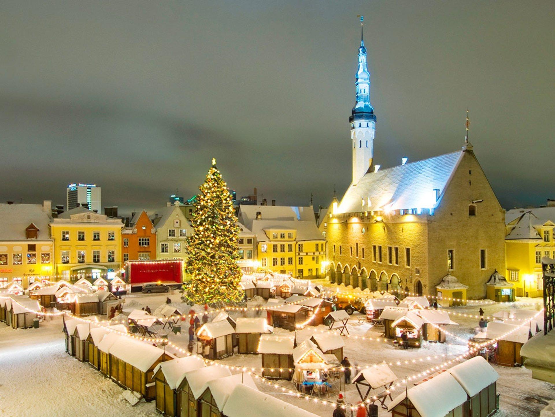 Christmas Market in Tallinn in Estonia 2019 - Best Time