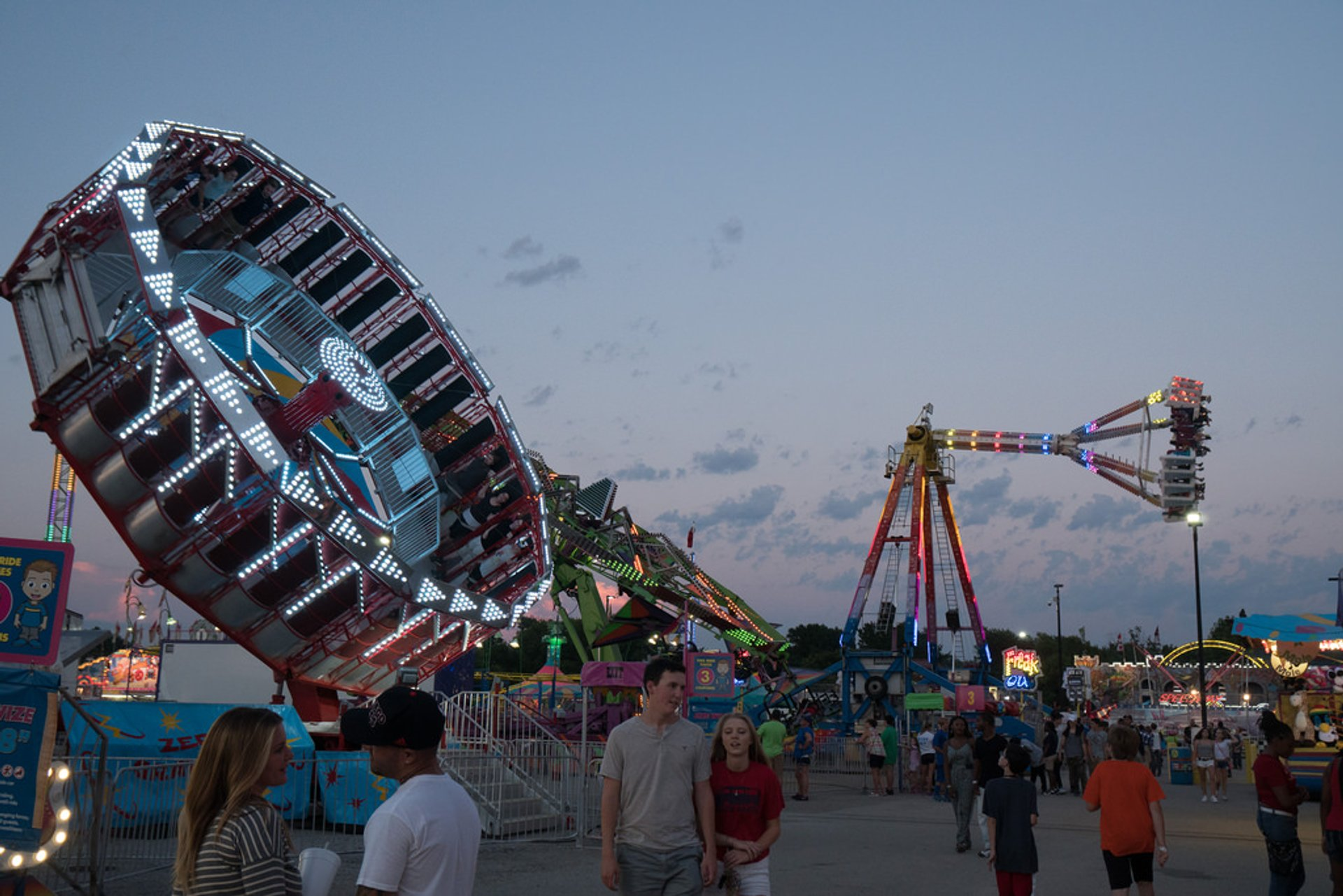 Best time for Illinois State Fair in Midwest 2019