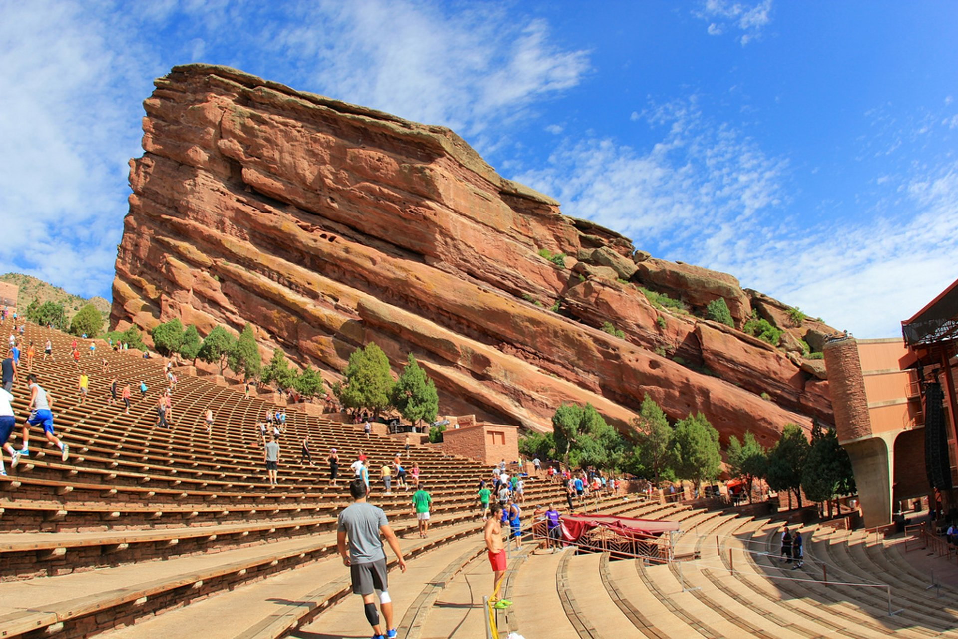 Best time for Concerts at Red Rocks Amphitheatre in Colorado 2019