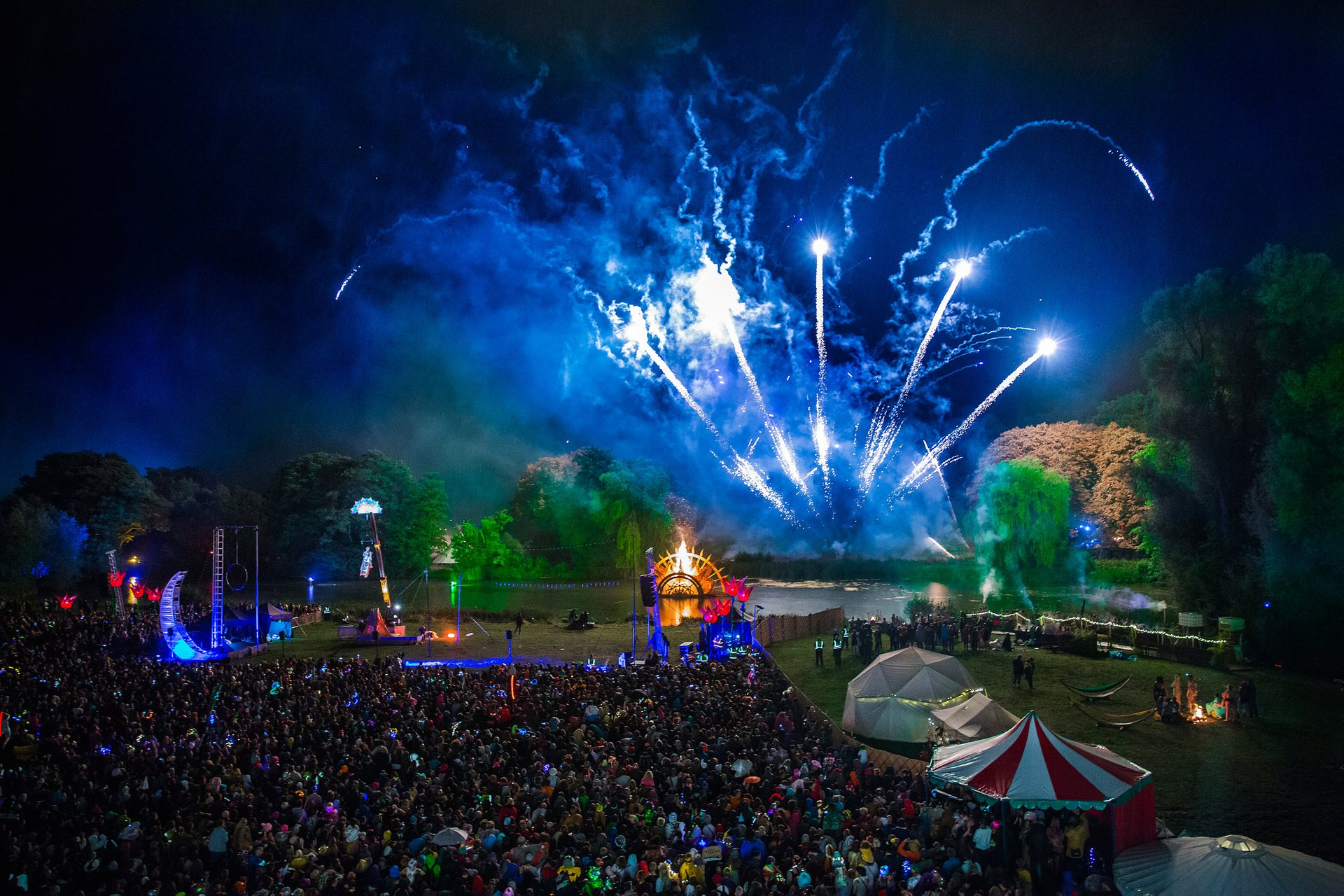 Best time to see Shambala Festival 2020