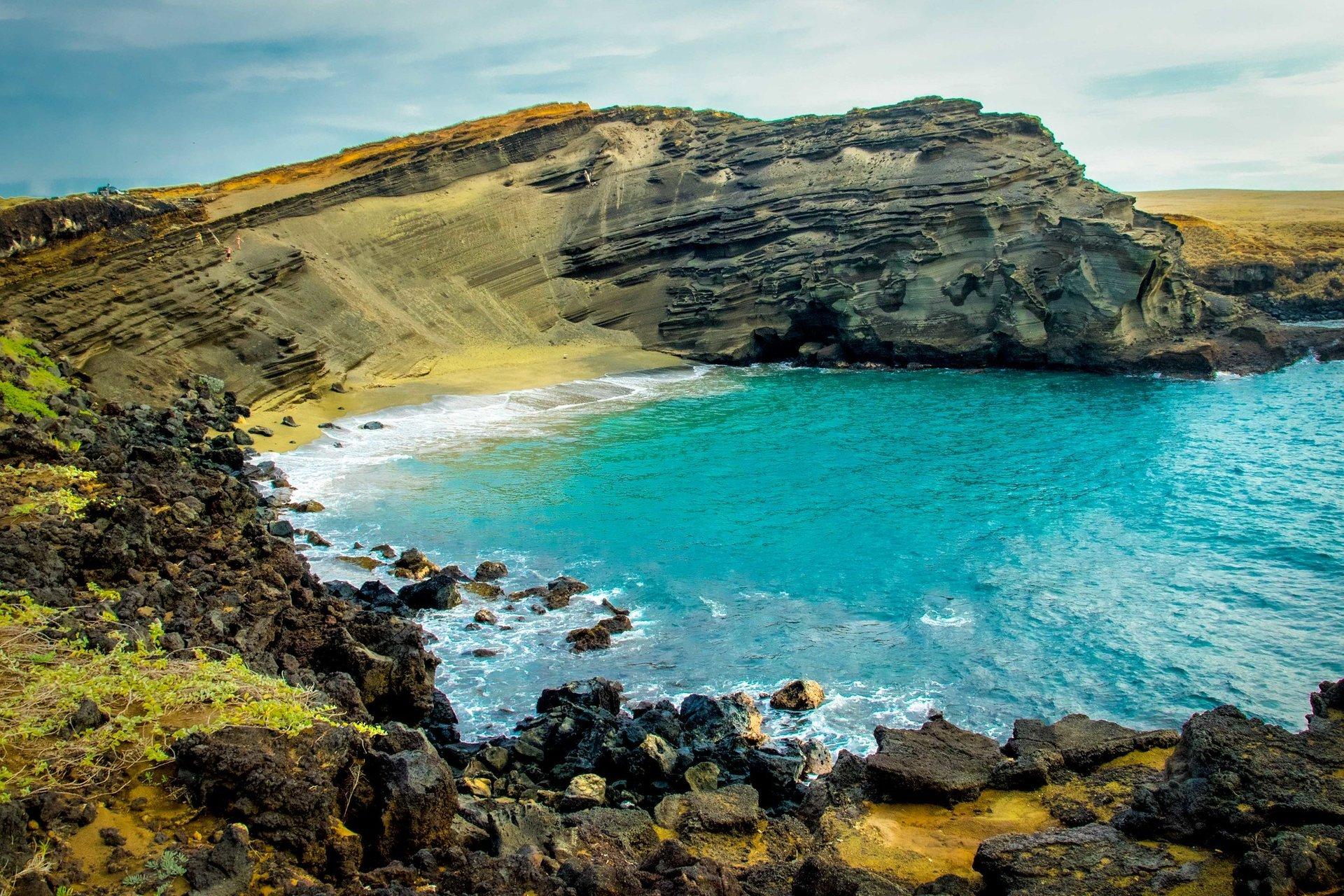 Green Sand Beach (Papakōlea) in Hawaii 2020 - Best Time