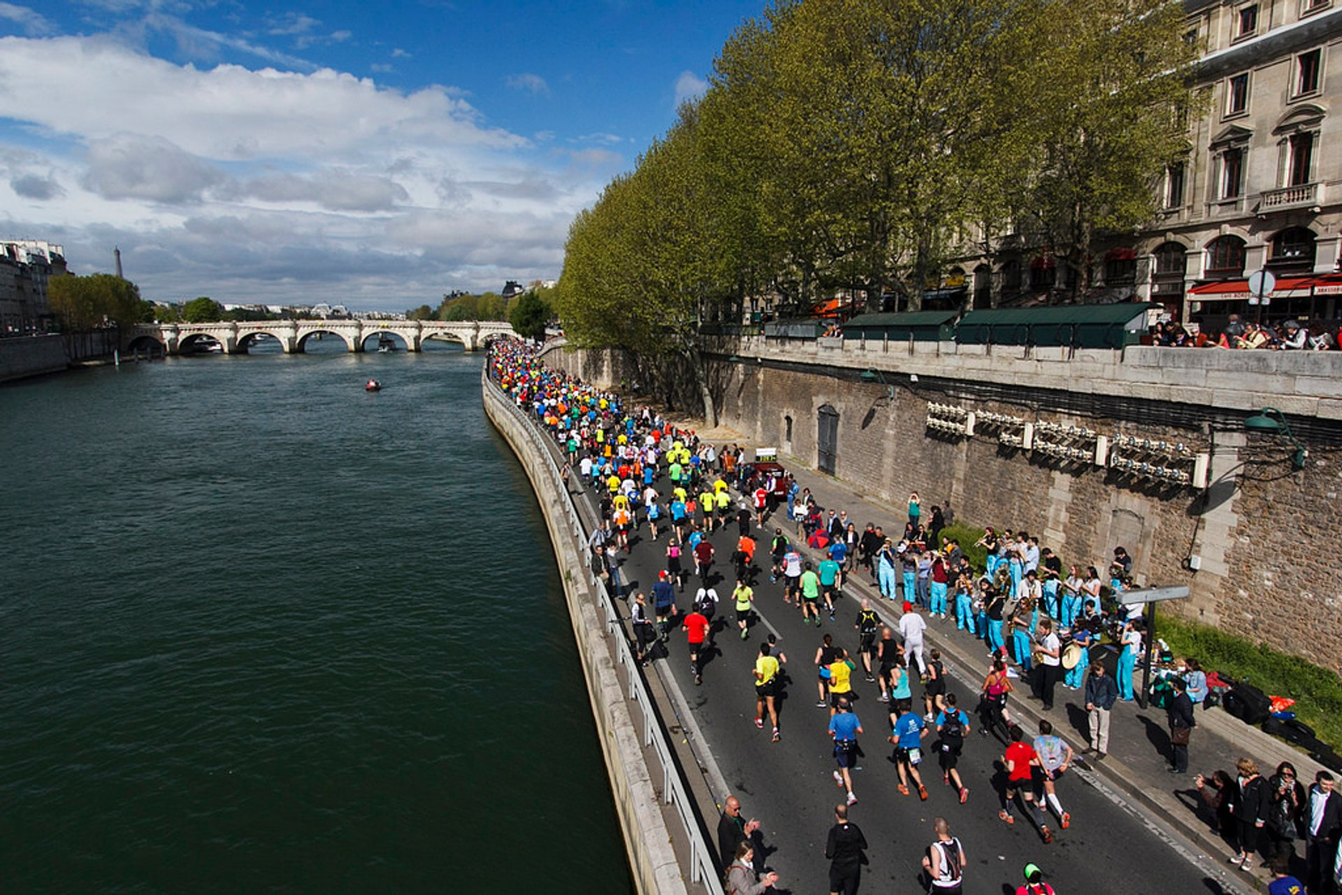 Best time for Marathon de Paris in Paris 2020