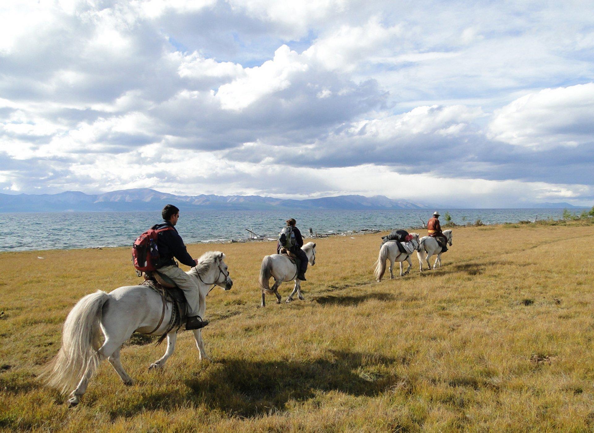 Horseback Riding in Mongolia - Best Time