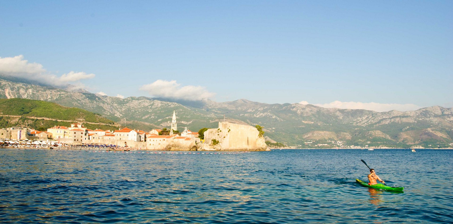 Kayaking in Budva 2019