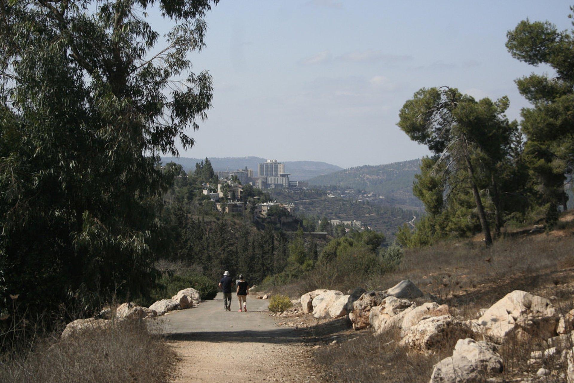 Jerusalem Trail in Jerusalem - Best Time