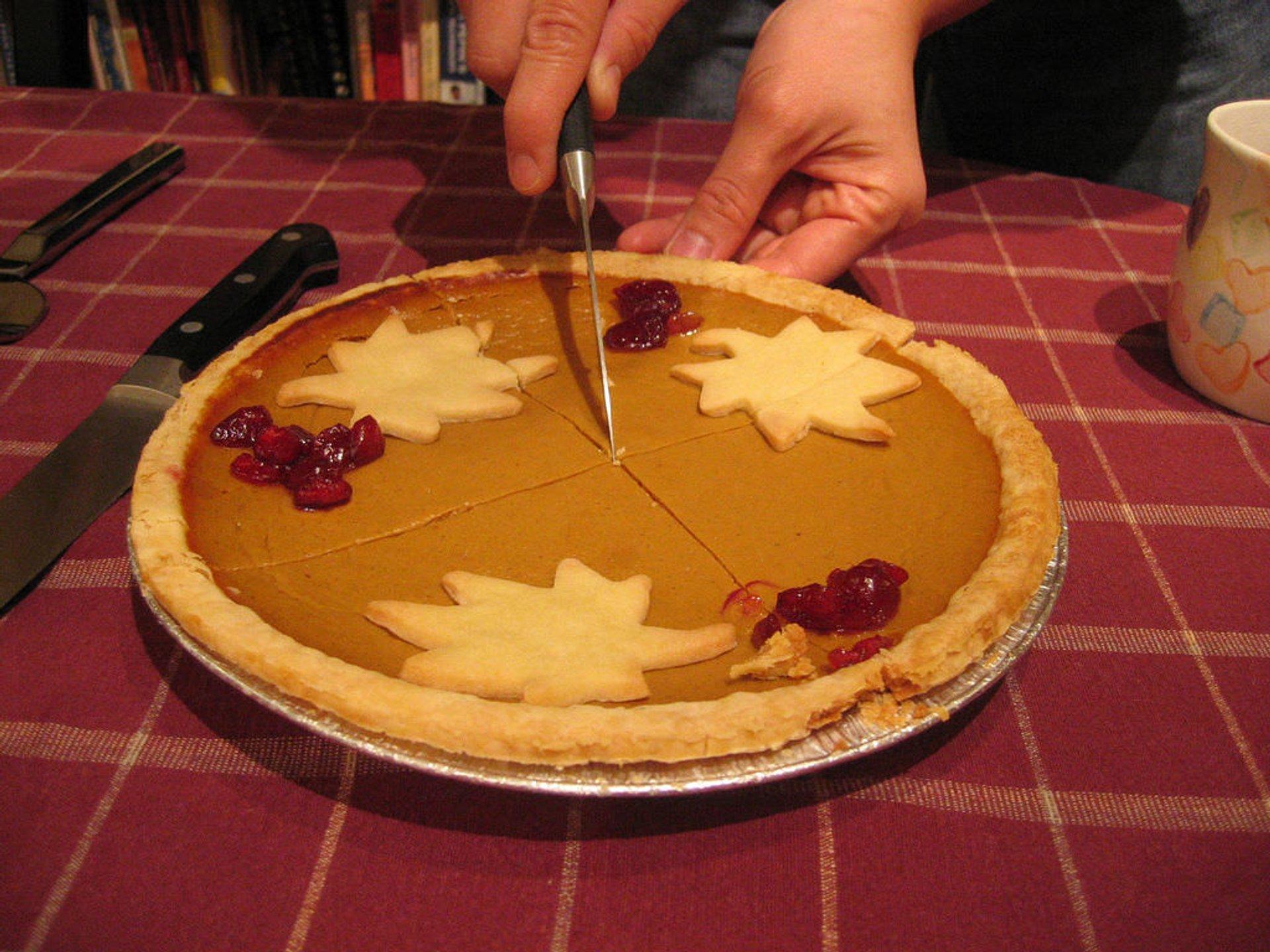 Pumpking pie 2020