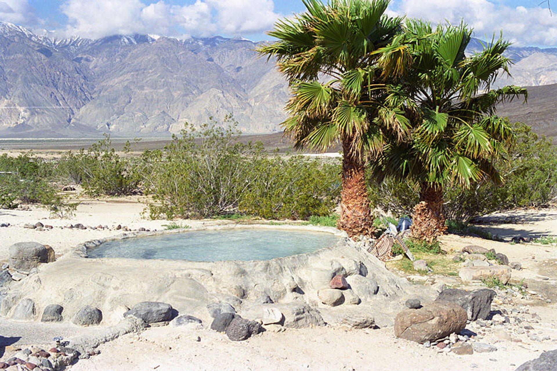 Saline Valley Hot Springs in Death Valley 2019 - Best Time