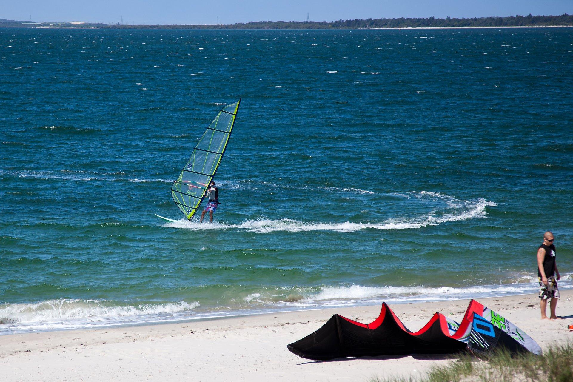 Windsurfer on Botany Bay 2020