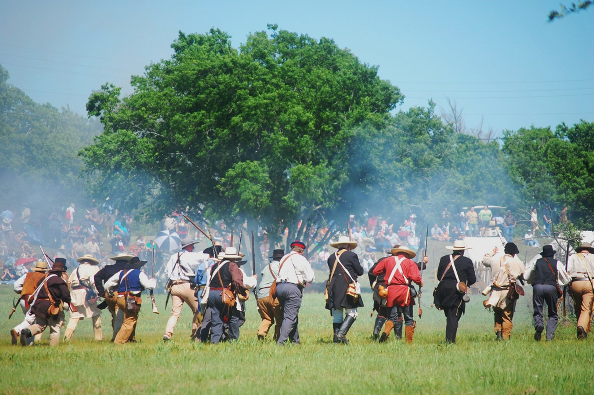 Texas Independence Re-enactment 2020