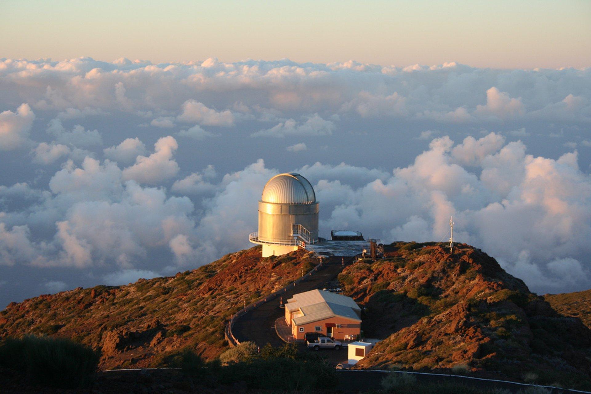 Observatorio Roque de los Muchachos, La Palma, Canary Islands. 2020