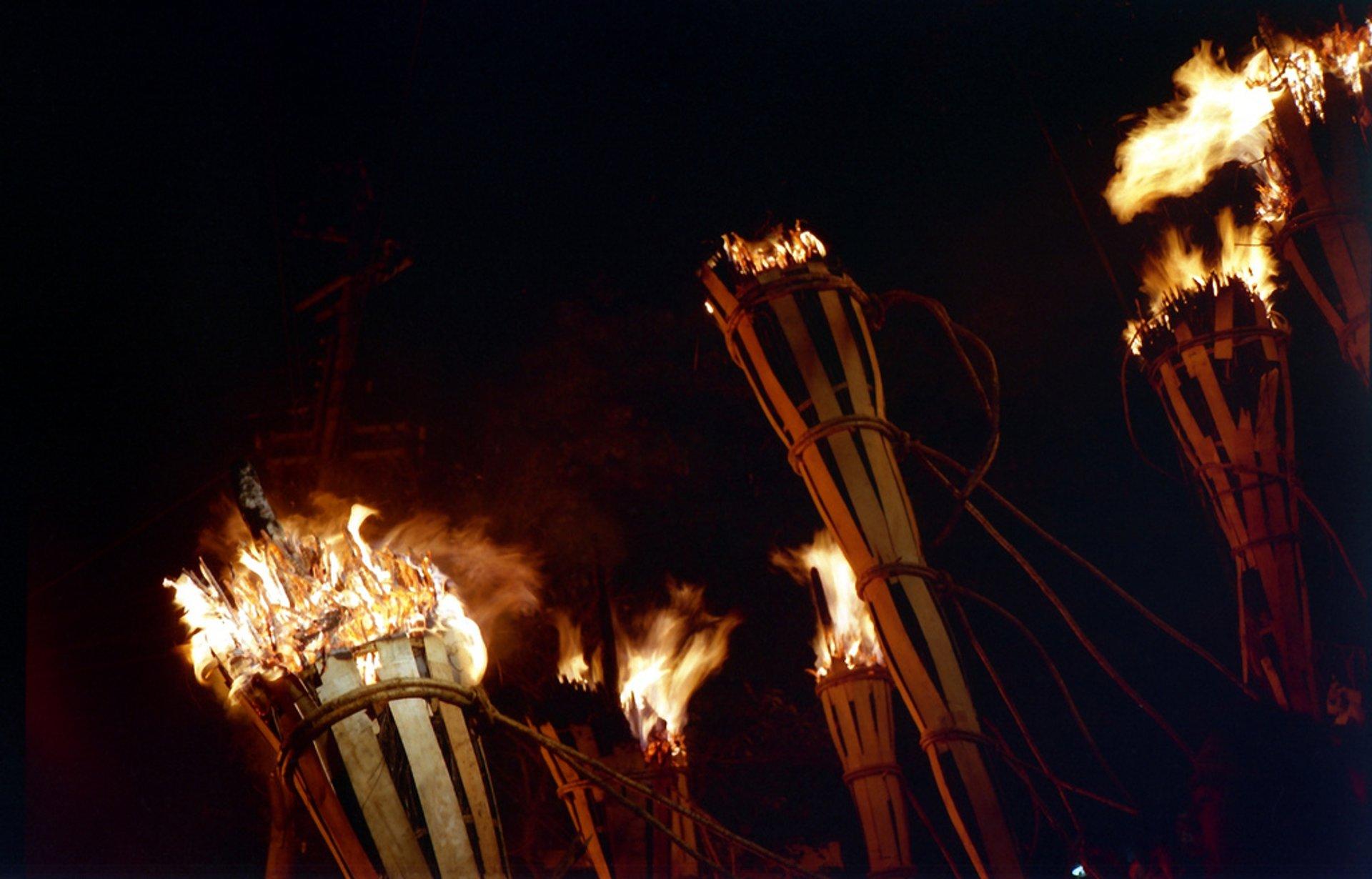 Kurama Fire Festival in Kyoto 2020 - Best Time