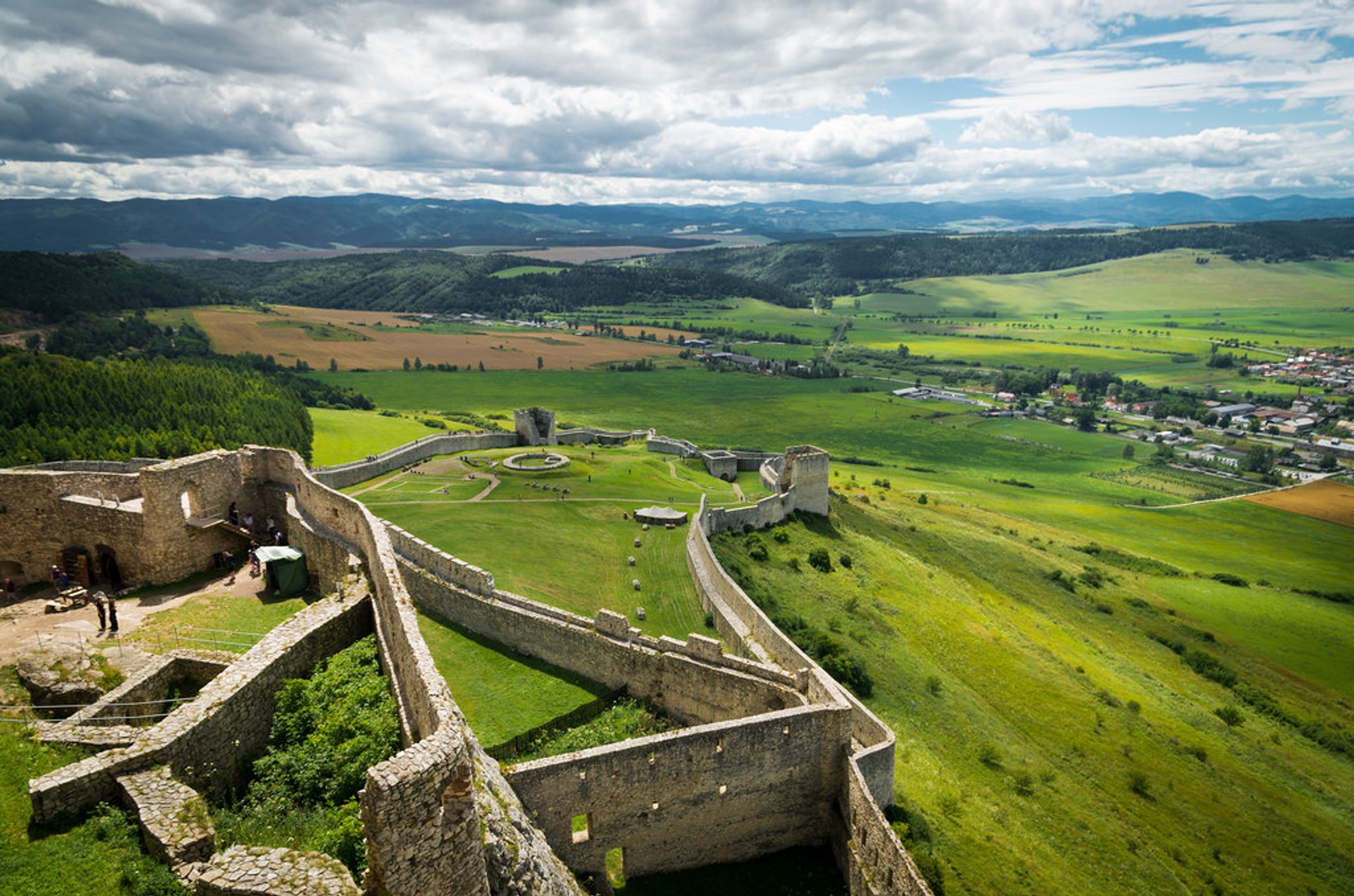 Best time to see Spiš Castle in Slovakia