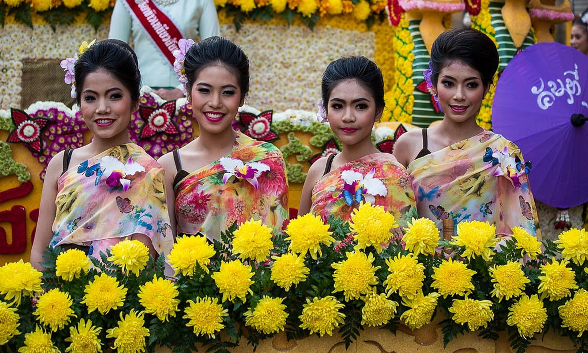 Chiang Mai Flower Festival in Thailand 2019 - Best Time