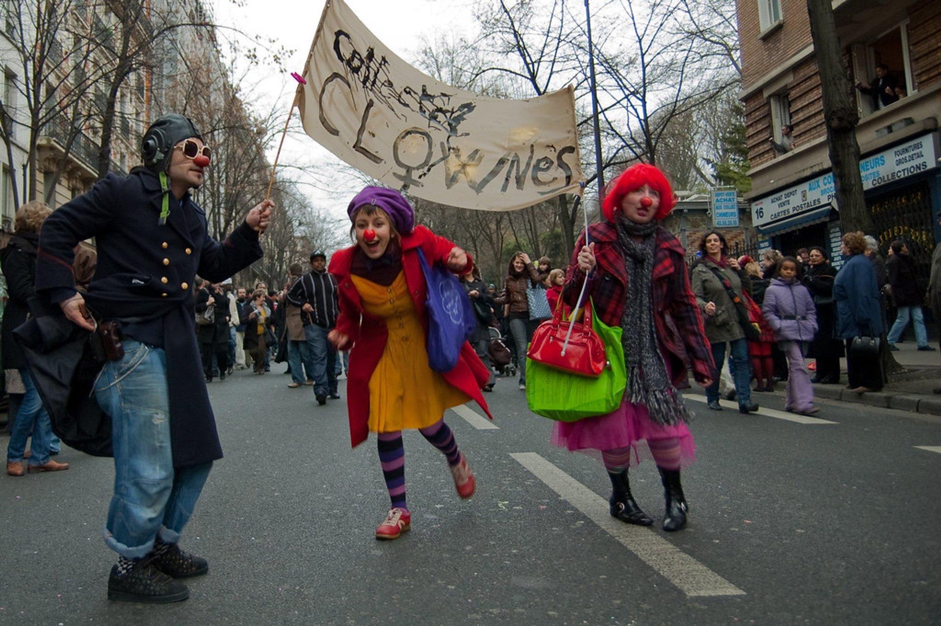 Best time for Carnaval de Paris & Carnaval des Femmes in Paris 2020
