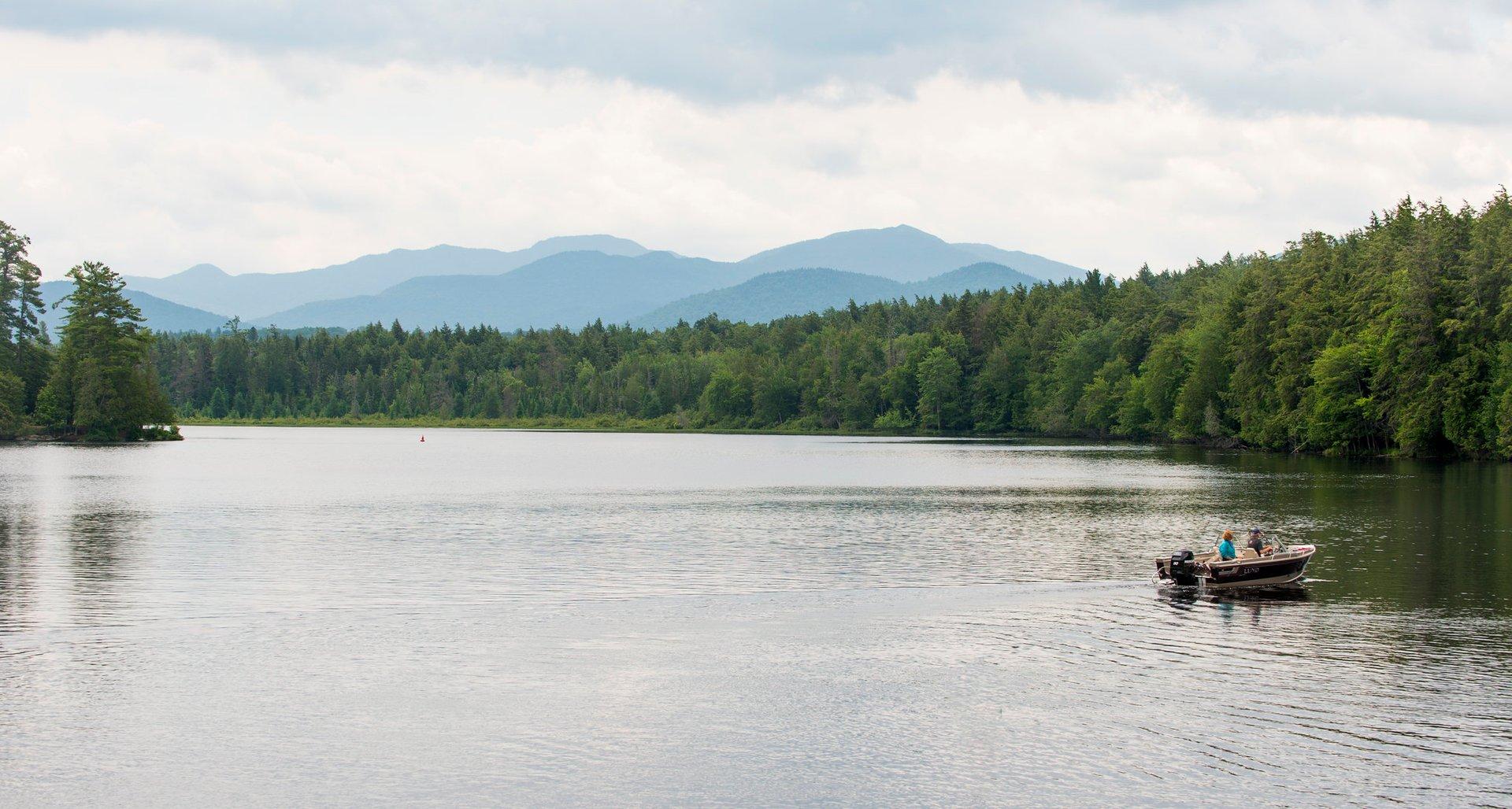 Lower Saranac Lake 2020