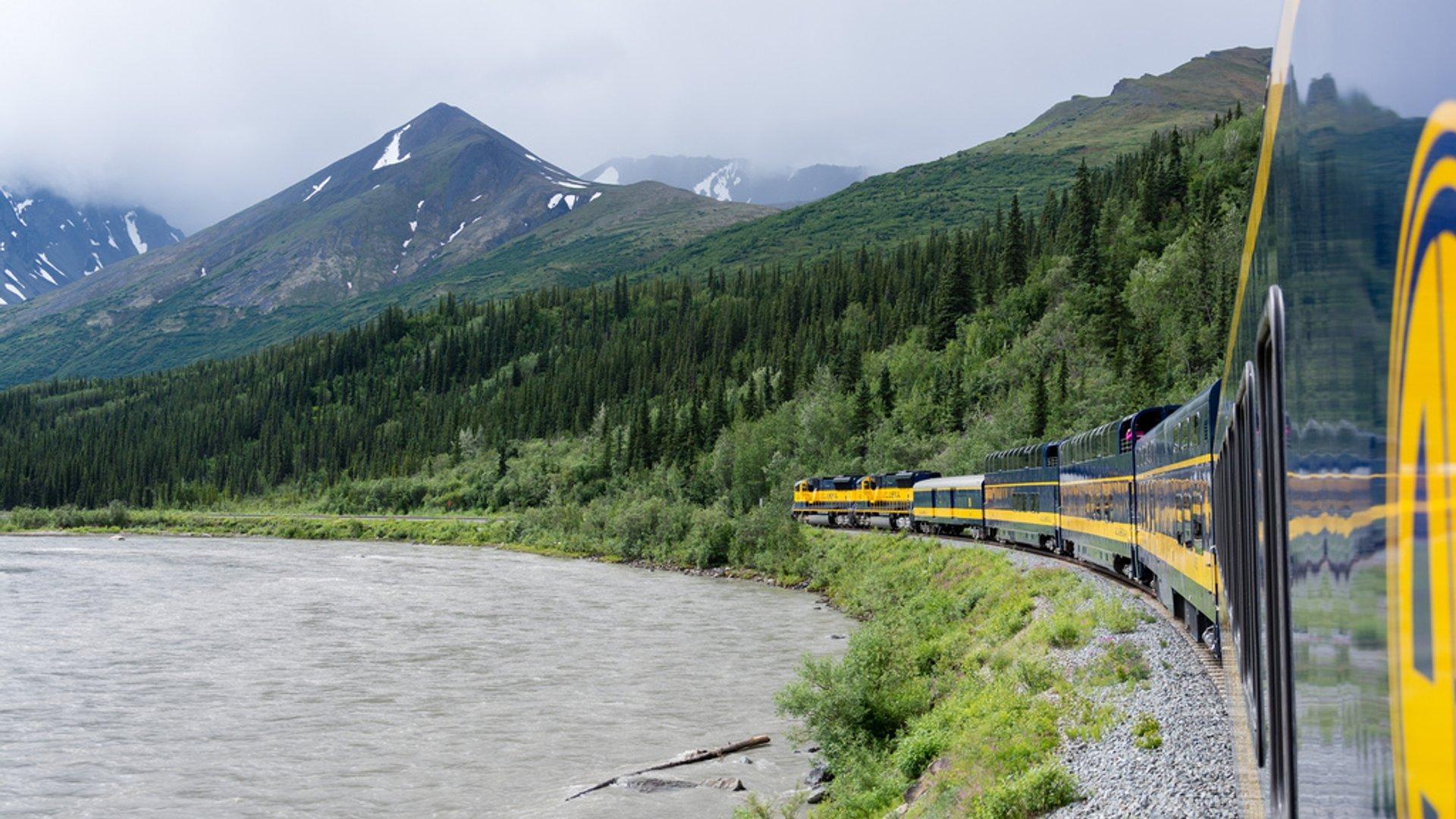 Summer Railroad Trip in Alaska 2020 - Best Time